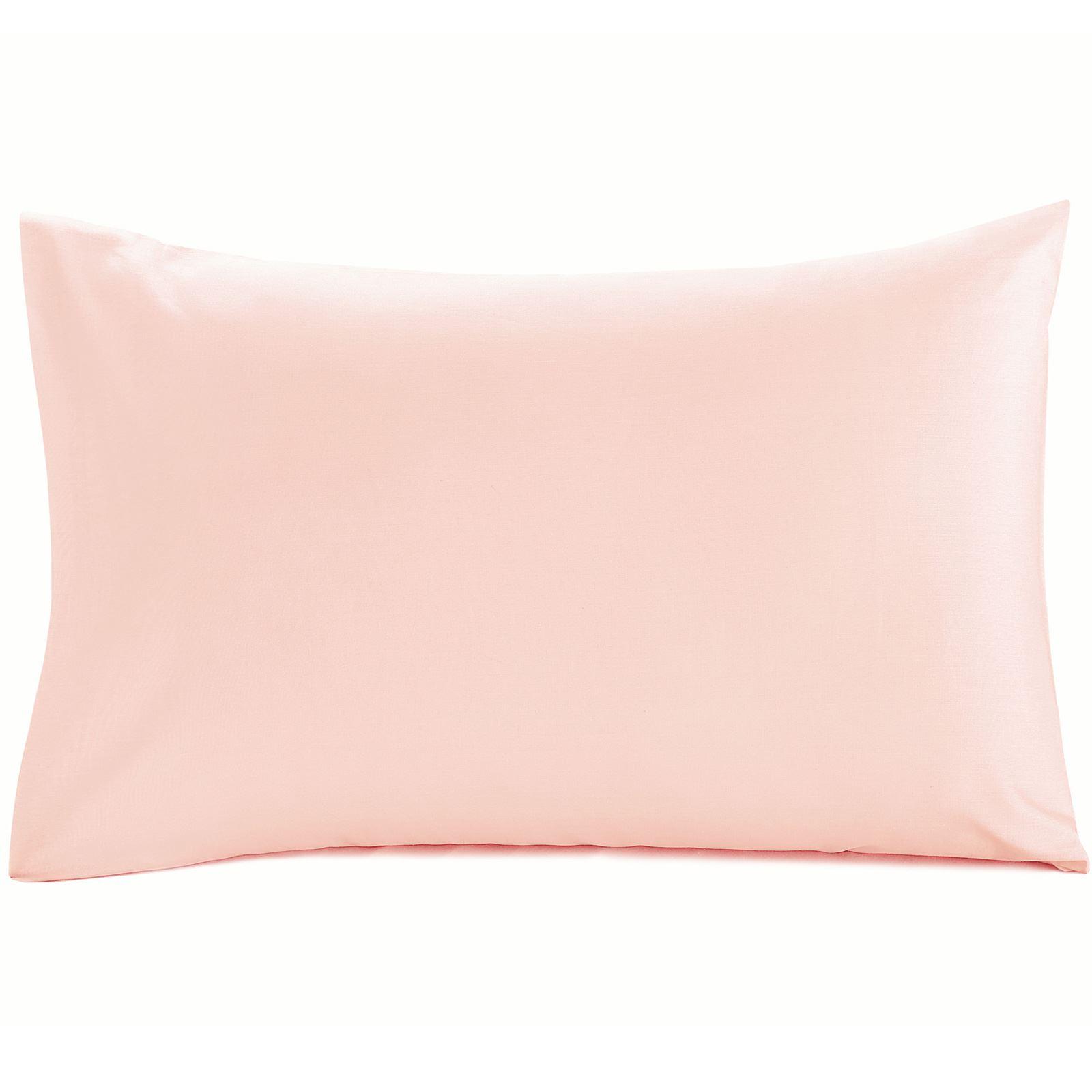Luxury-100-Egyptian-Cotton-200-Thread-Percale-Plain-Pillowcases-Pillow-Case-Pair thumbnail 3