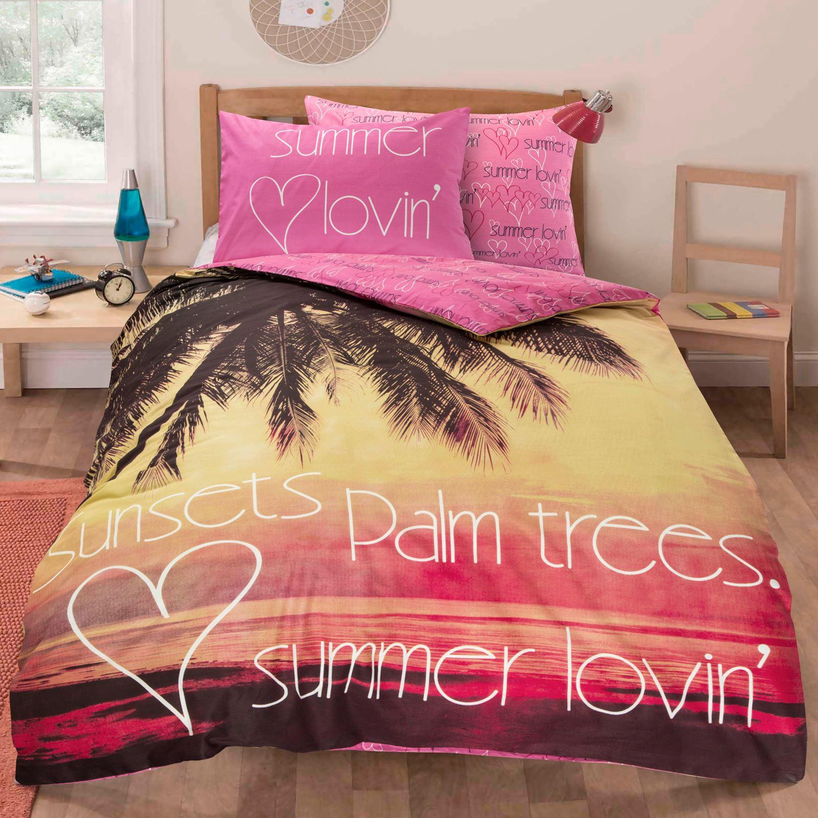 Boy S Quilt Duvet Cover Bedding Sets Single Or Double: Children Teenage Kids Boys Girls Single Quilt Duvet Cover
