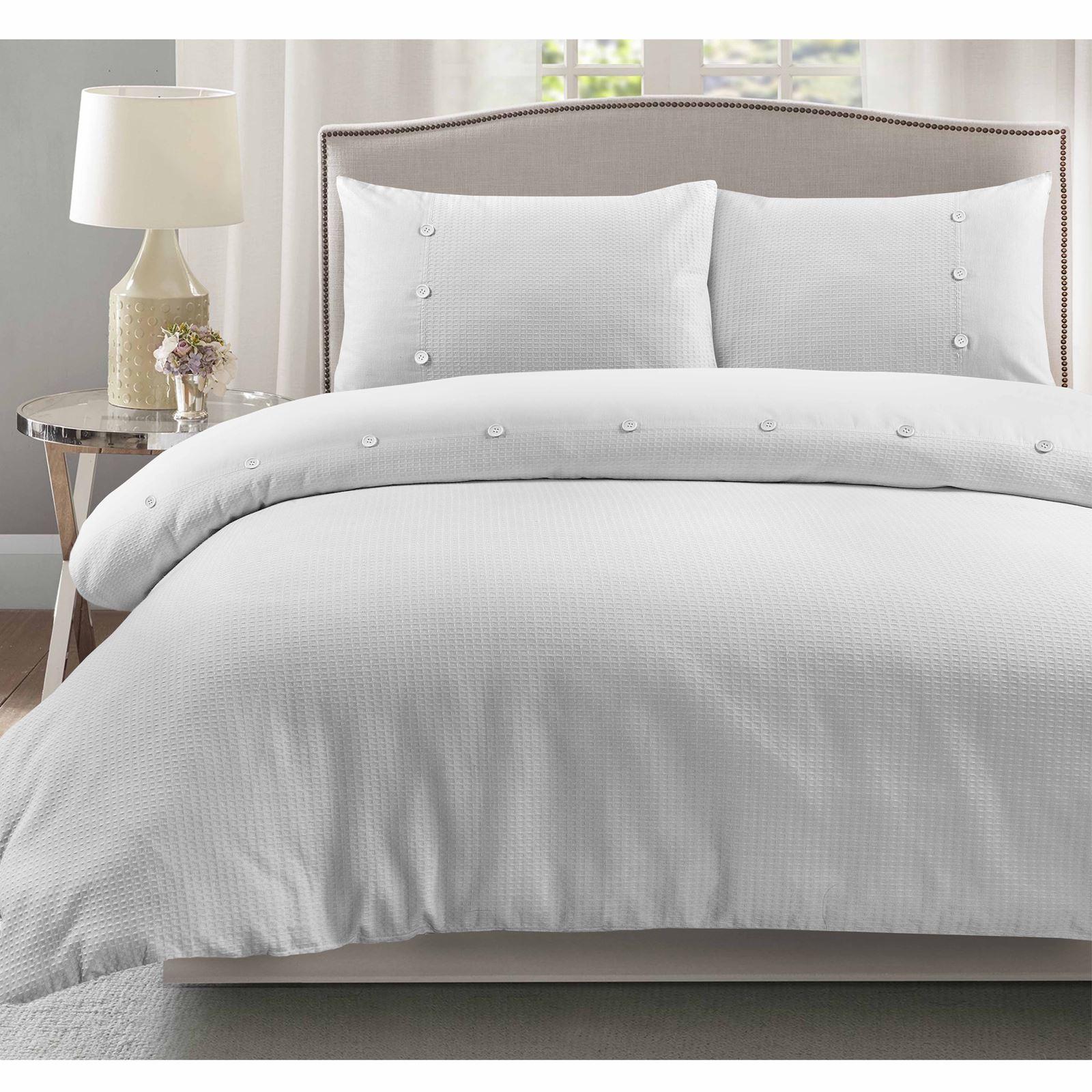 100-Algodon-Cuidado-facil-cubierta-del-edredon-edredon-multicolor-nuevo-conjunto-de-ropa-de-cama miniatura 23