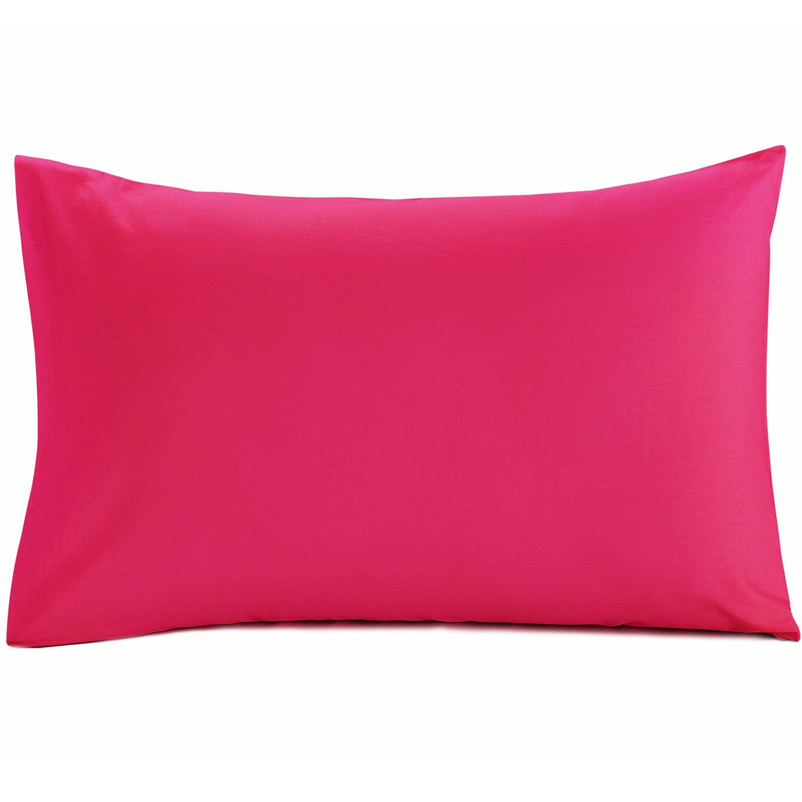 Luxury-100-Egyptian-Cotton-200-Thread-Percale-Plain-Pillowcases-Pillow-Case-Pair thumbnail 19