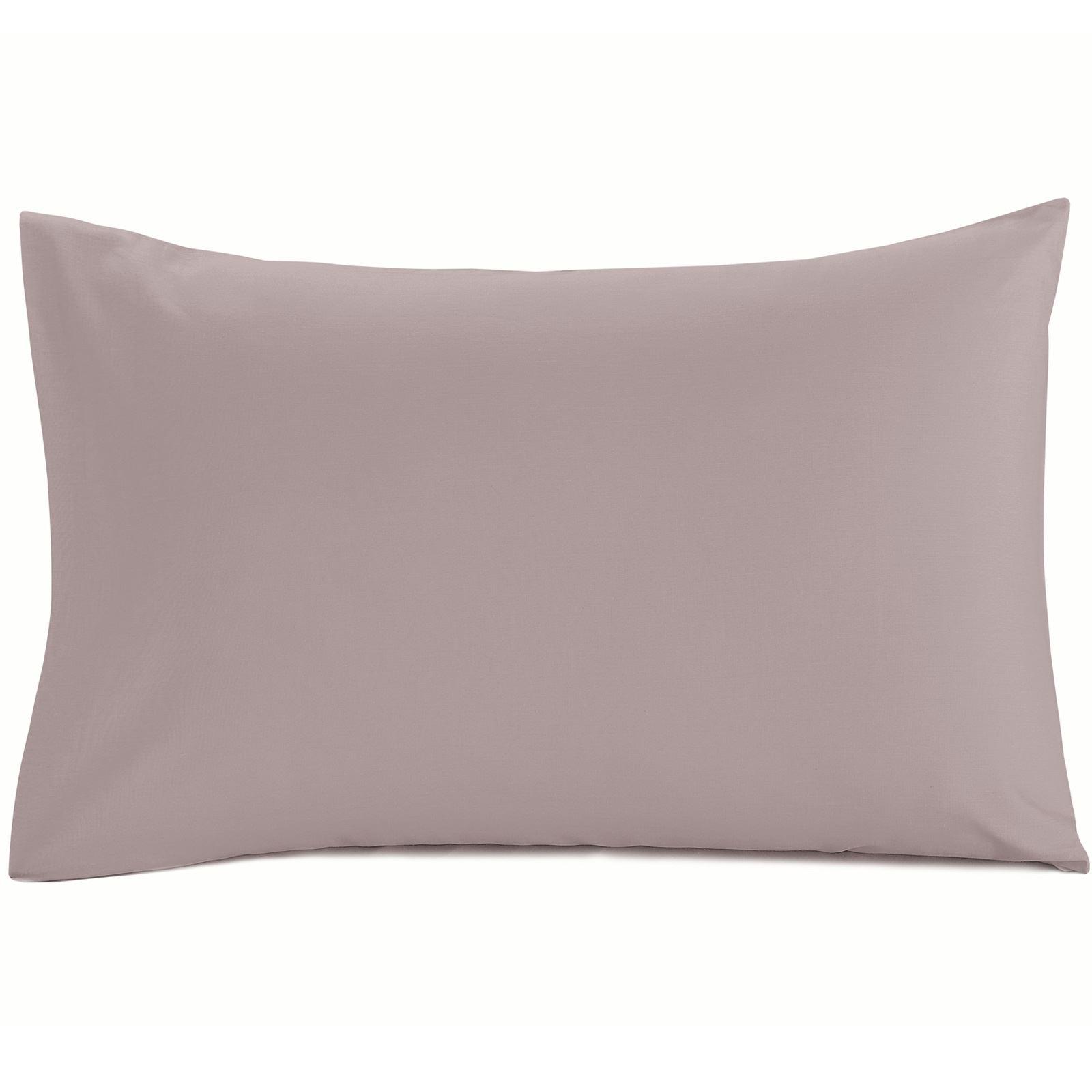 Luxury-100-Egyptian-Cotton-200-Thread-Percale-Plain-Pillowcases-Pillow-Case-Pair thumbnail 11