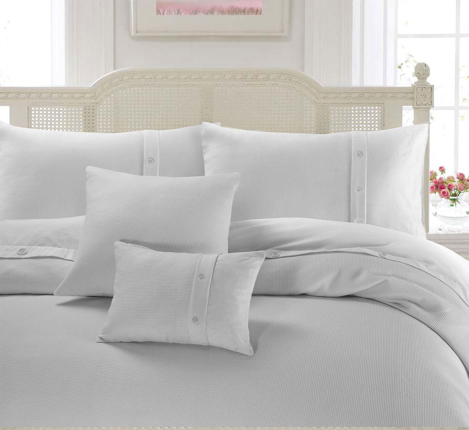100-Algodon-Cuidado-facil-cubierta-del-edredon-edredon-multicolor-nuevo-conjunto-de-ropa-de-cama miniatura 24