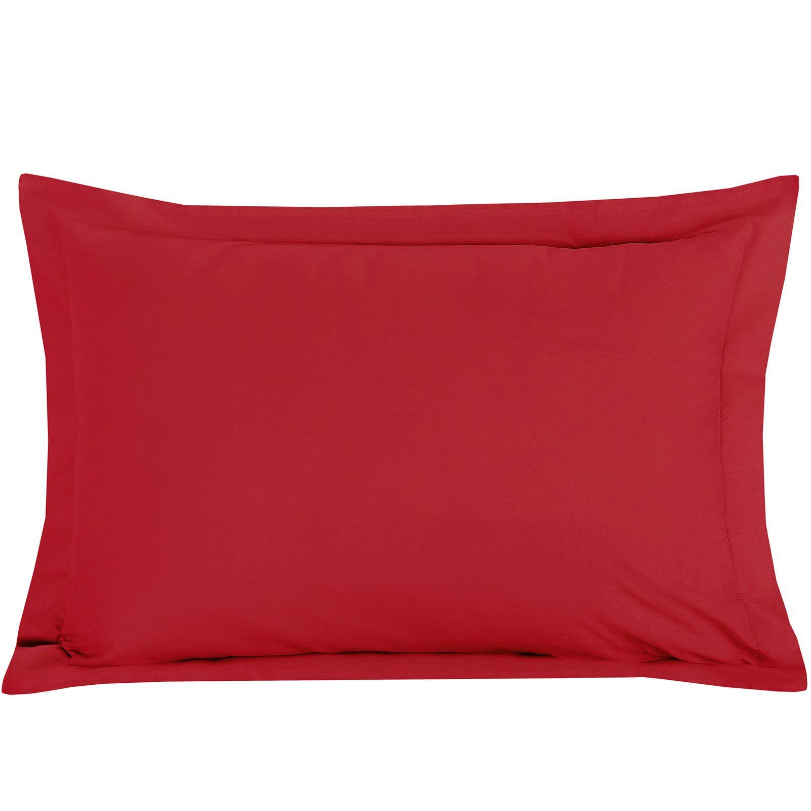 Luxury-100-Egyptian-Cotton-200-Thread-Percale-Plain-Pillowcases-Pillow-Case-Pair thumbnail 21