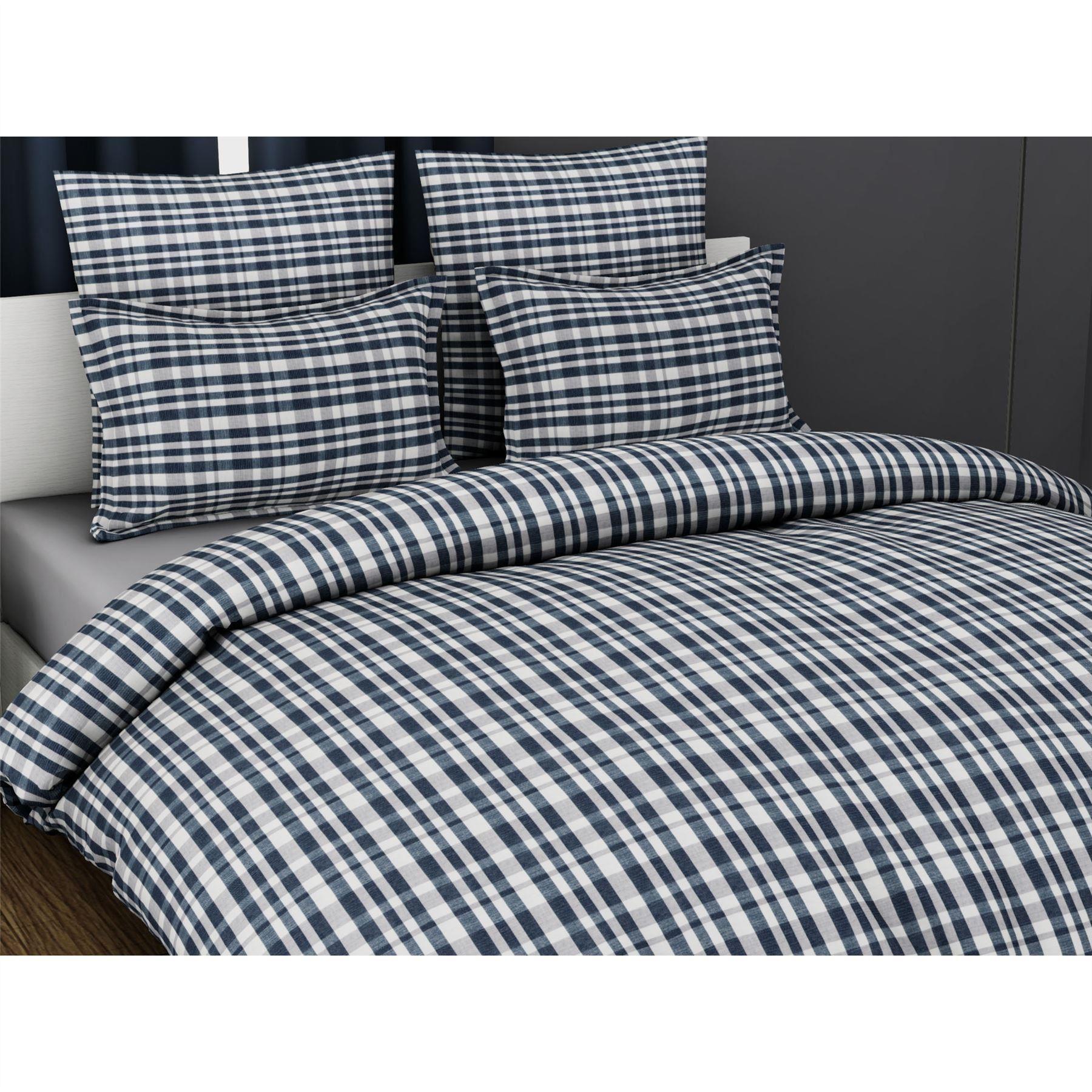 100-Algodon-Cuidado-facil-cubierta-del-edredon-edredon-multicolor-nuevo-conjunto-de-ropa-de-cama miniatura 13