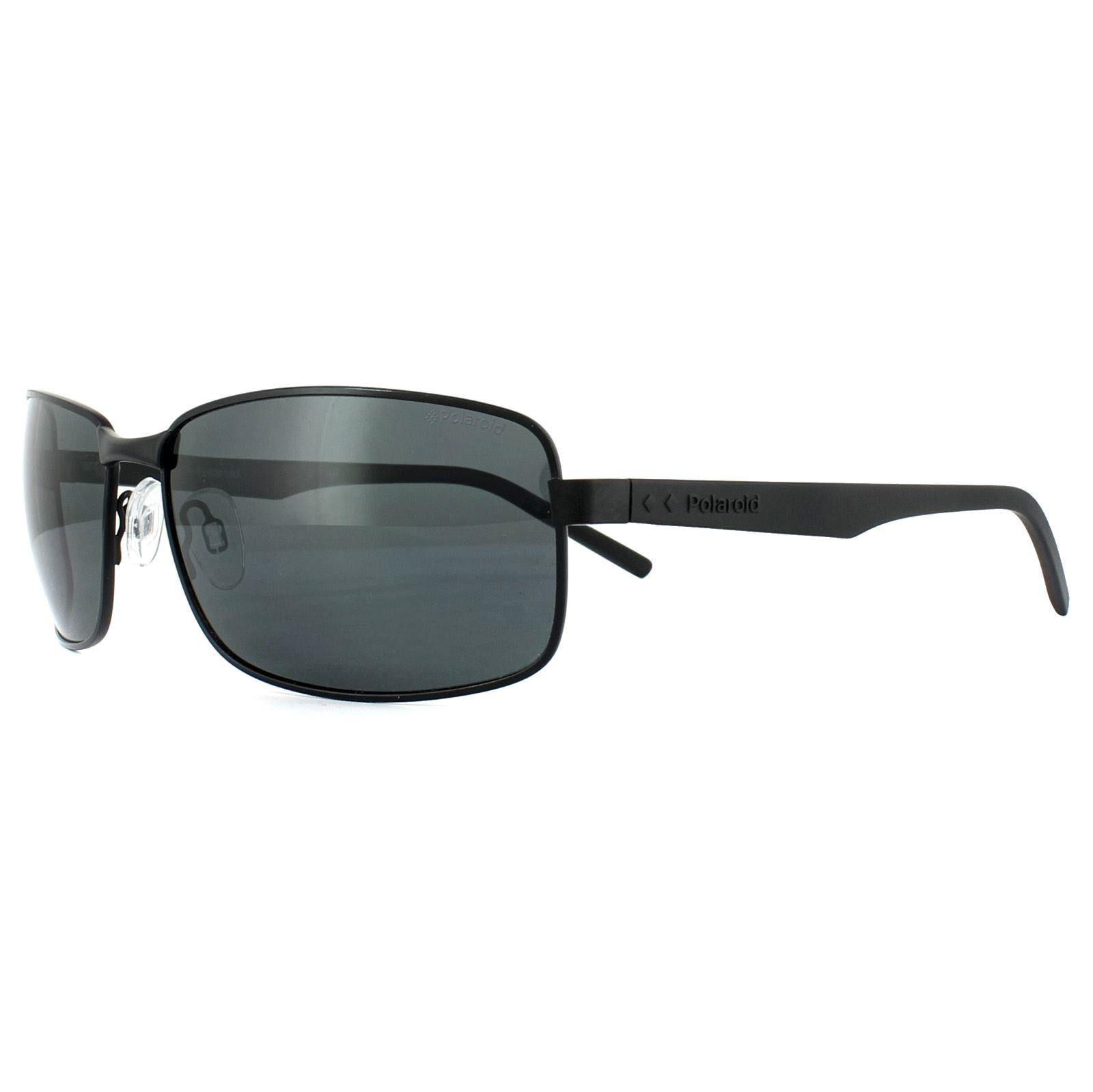 807 Black// Grey Polarised Polaroid Sunglasses PLD20451//S