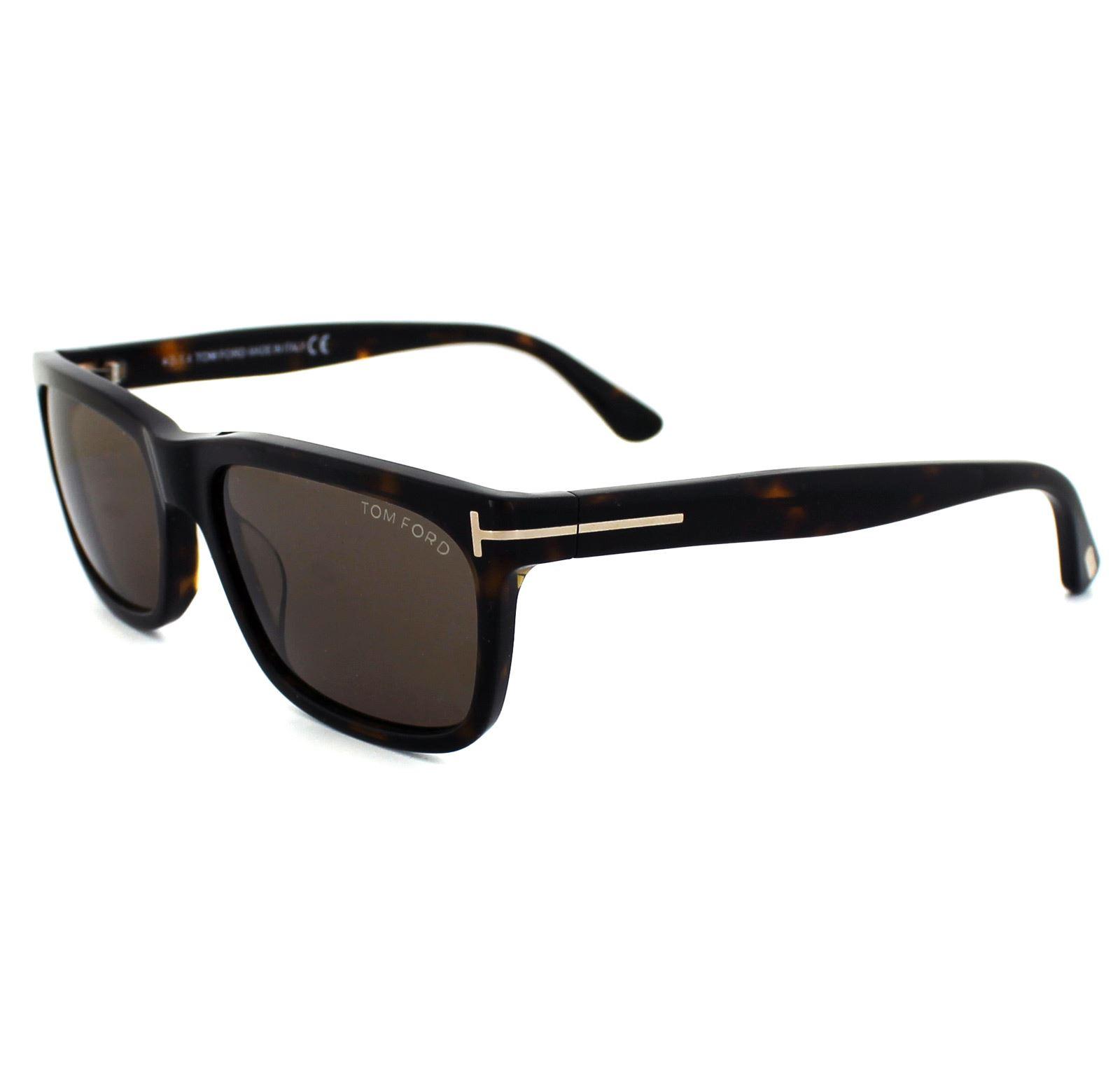 Tom Ford Sunglasses 0337 Hugh 56j Havana Roviex Brown 664689602971 Ebay