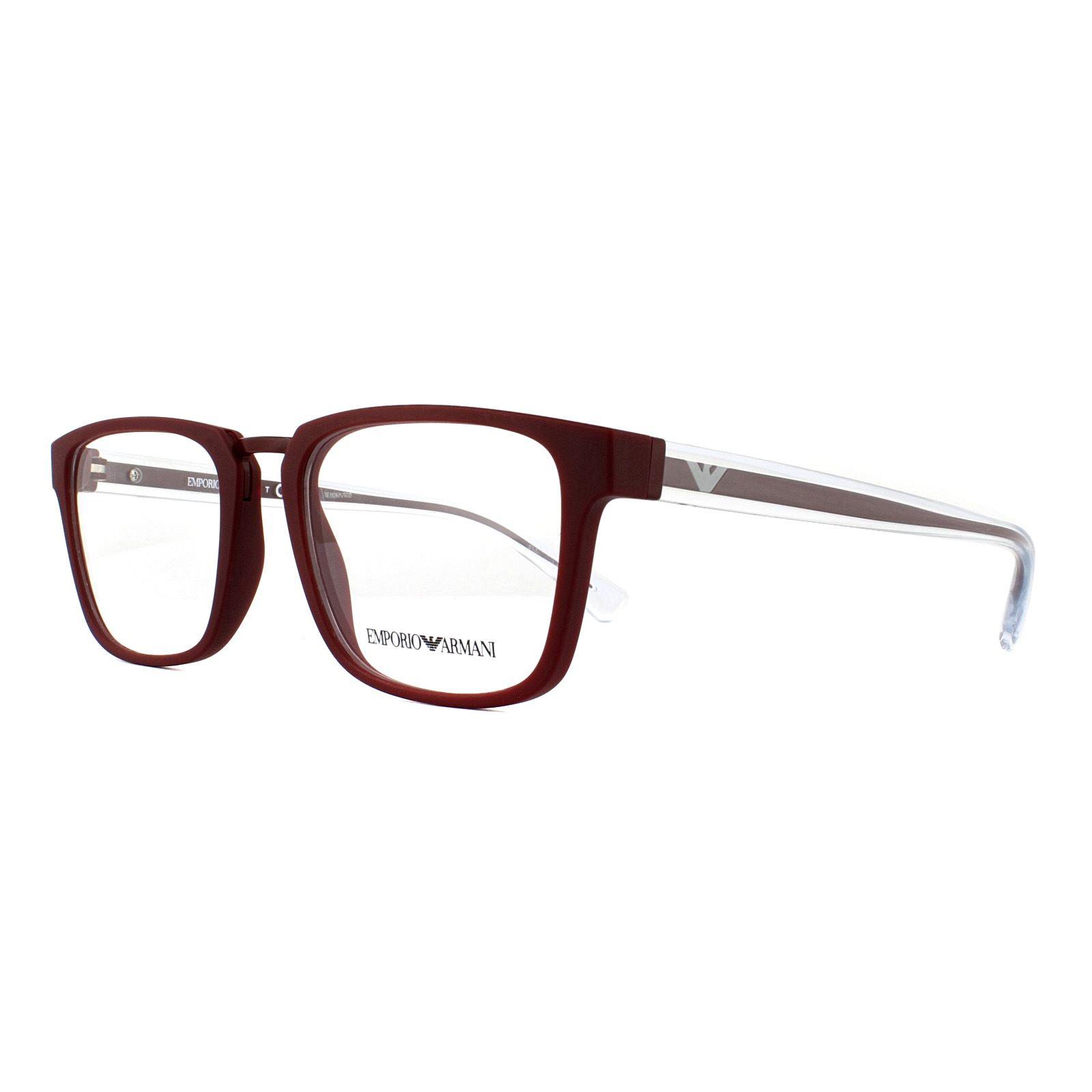 emporio armani glasses mens