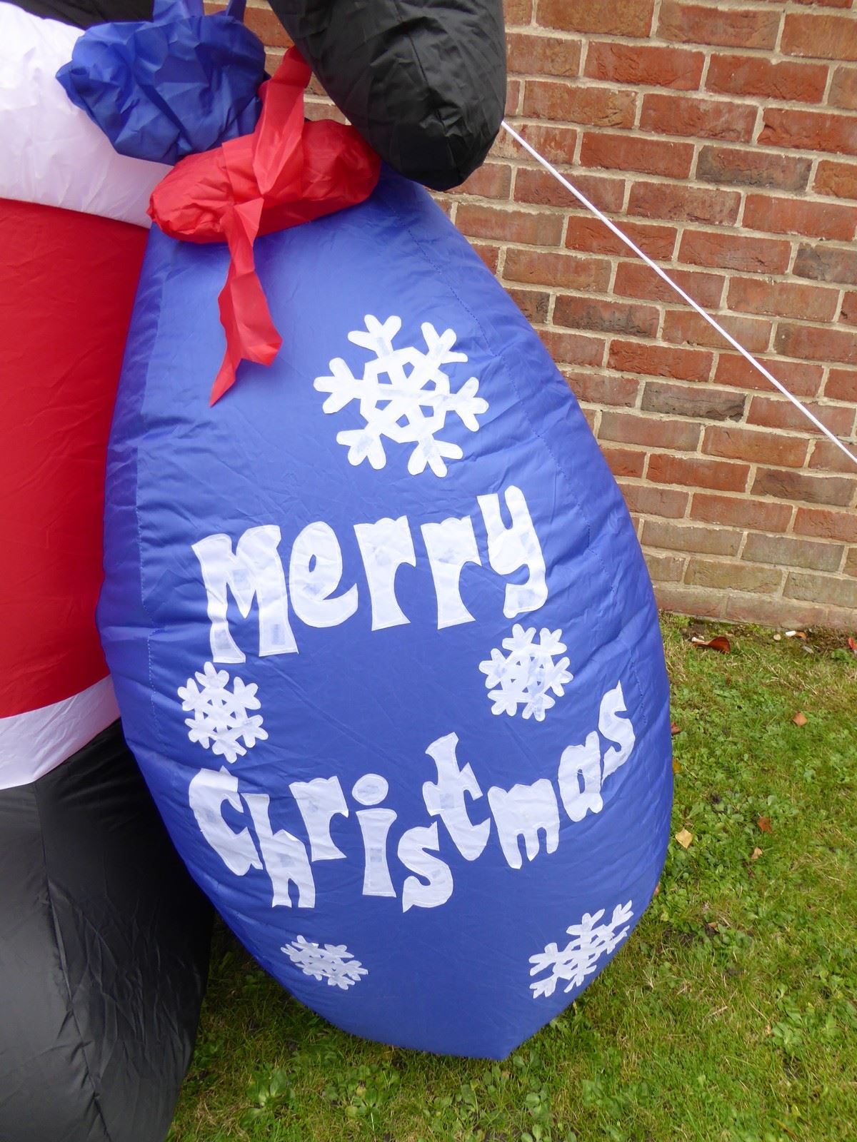Large-inflatable-Christmas-Decorations-With-Lights-Indoor-Outdoor-Santa-Snowman miniatura 82