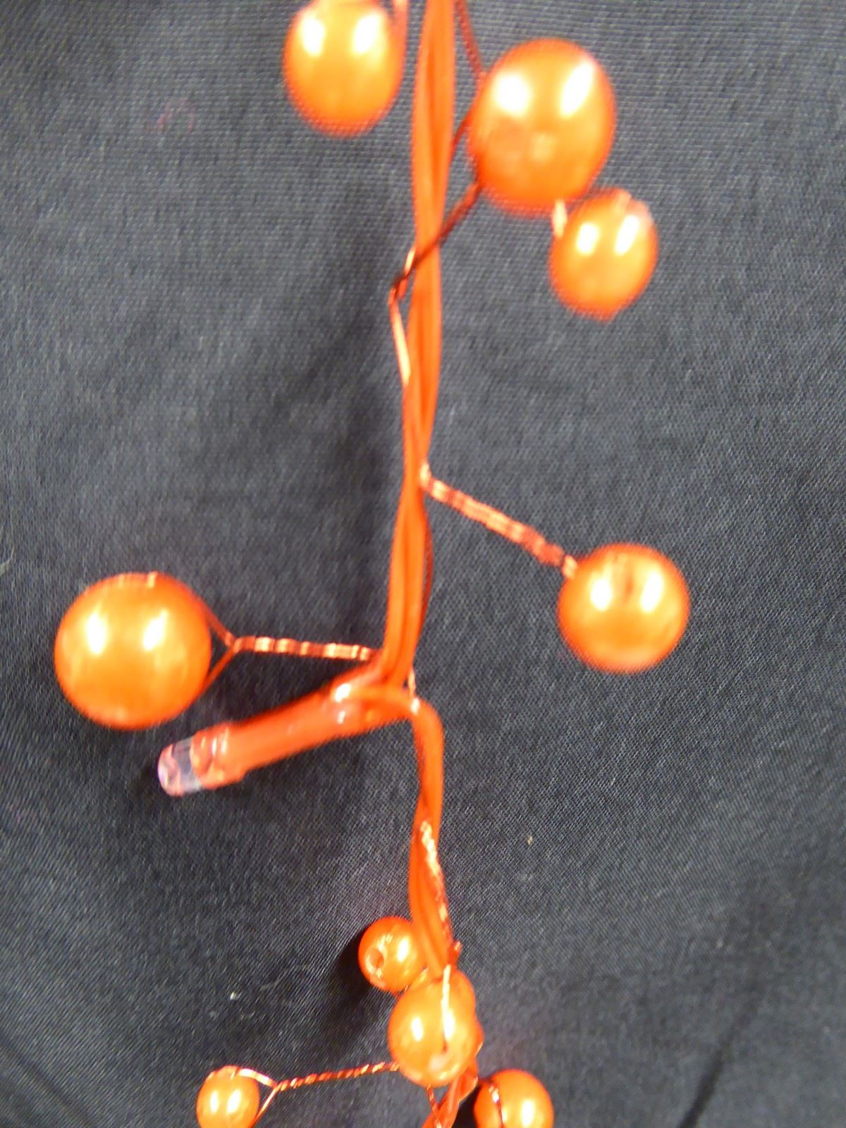 6ft-1-8m-Berry-Twig-Artificial-Christmas-Garland-With-Lights-Decoration thumbnail 13