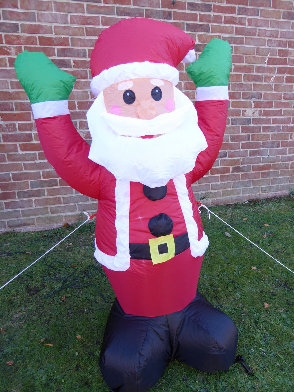 large inflatable christmas decorations with led lights 1