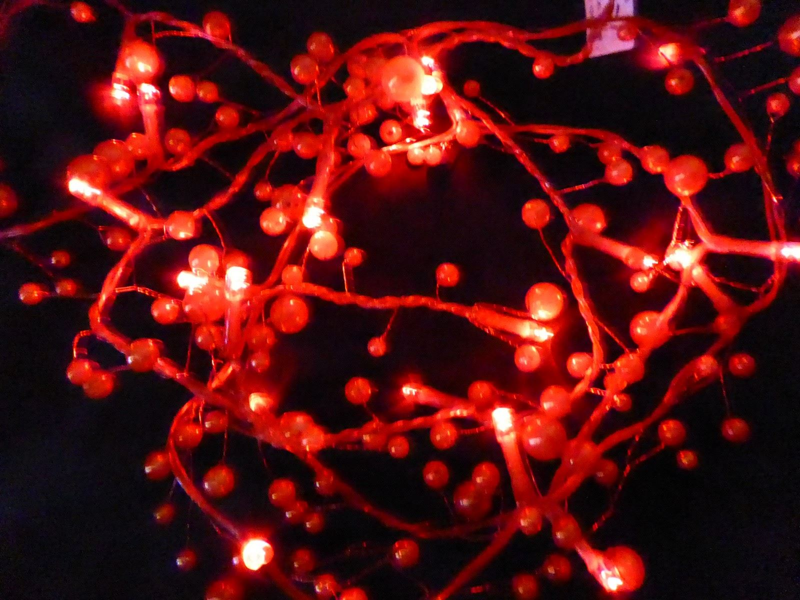 6ft-1-8m-Berry-Twig-Artificial-Christmas-Garland-With-Lights-Decoration thumbnail 11