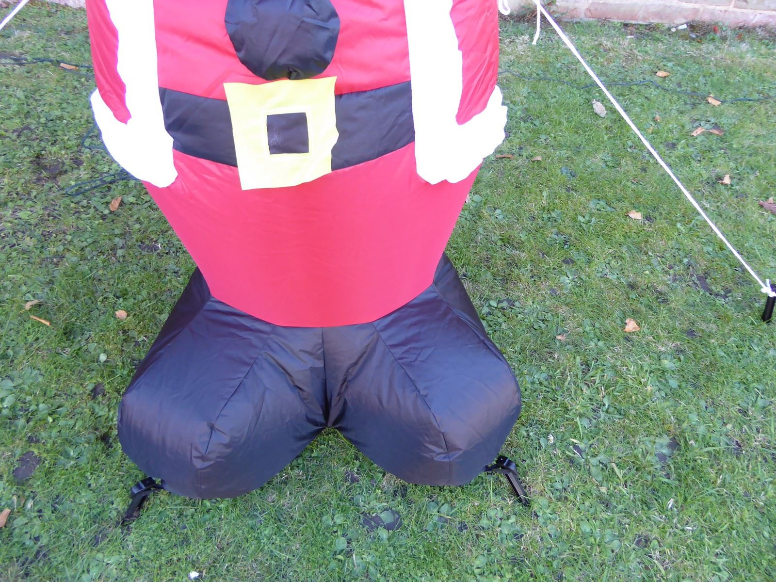 Large-inflatable-Christmas-Decorations-With-Lights-Indoor-Outdoor-Santa-Snowman miniatura 14