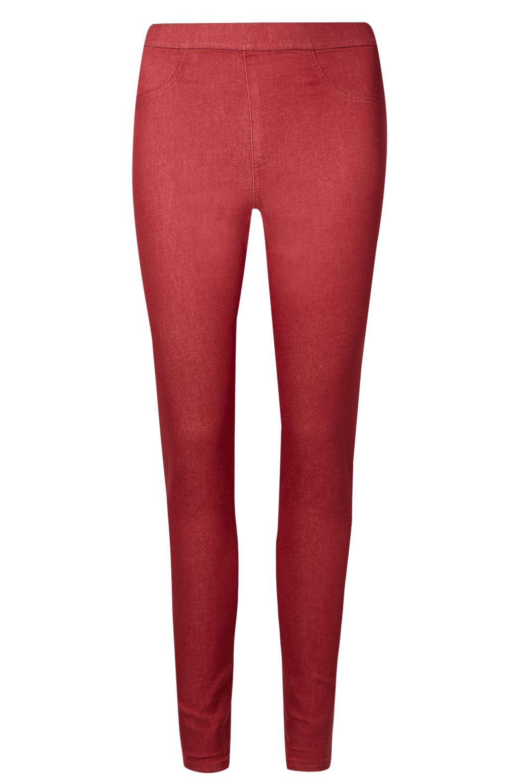 NEW-Ex-M-amp-S-Womens-Stretch-Fit-High-Waist-Skinny-Jeggings-Size-8-10-12-14-16-18 thumbnail 10