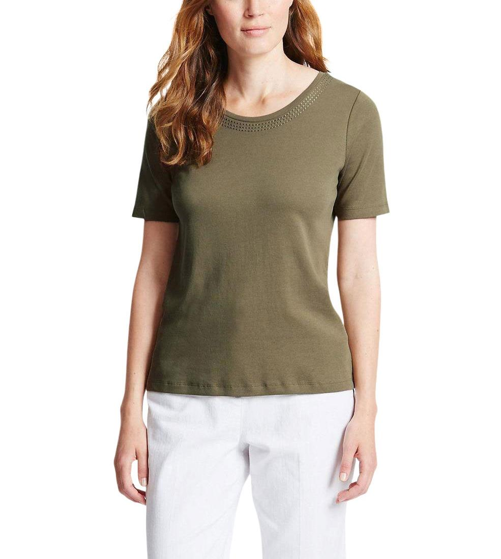 NEW-Ex-M-amp-S-Scoop-Neck-Long-Sleeve-Jersey-Top-Triple-Stitch-Neck-Sizes-8-24 thumbnail 16