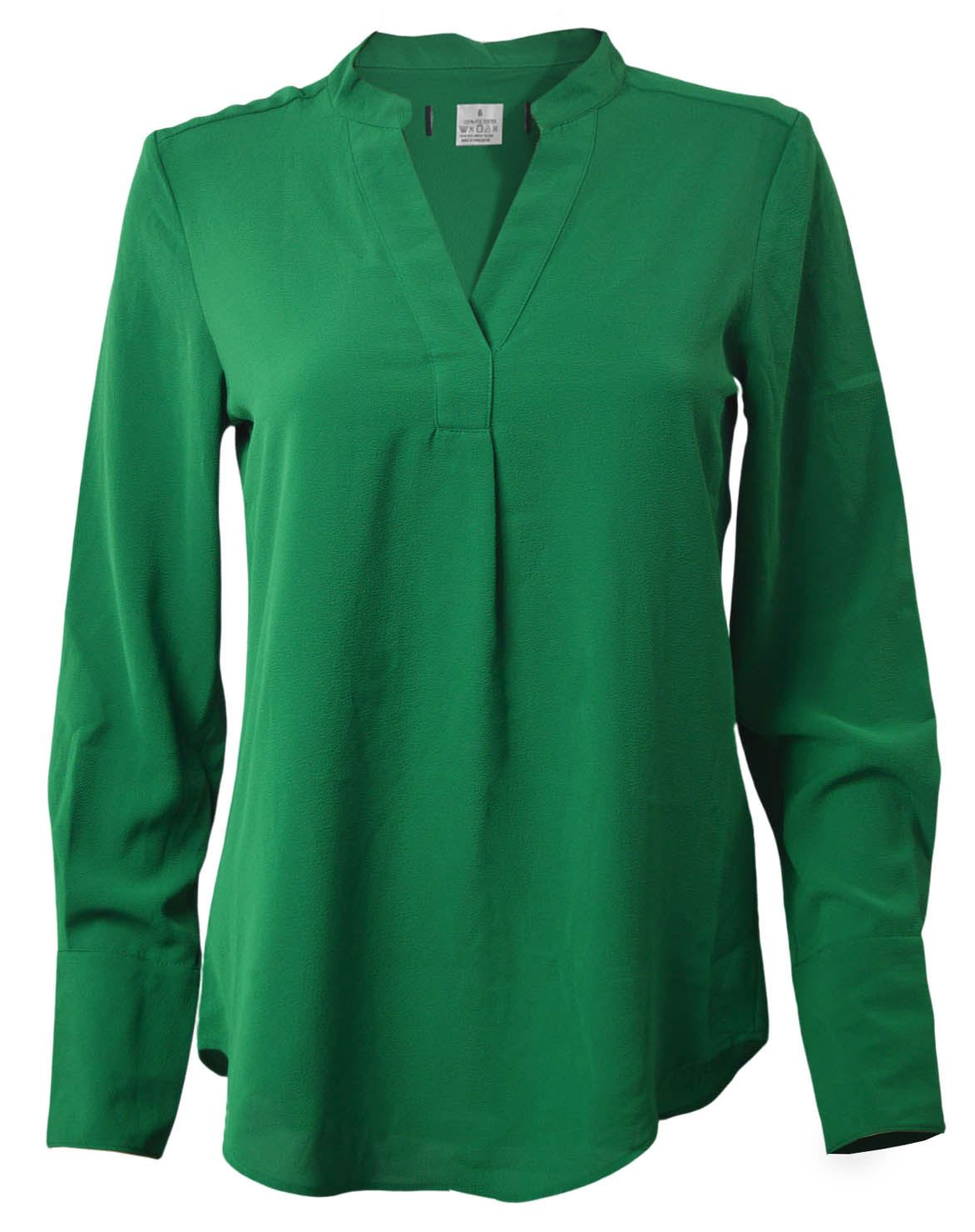MARKS-amp-SPENCER-Womens-Long-Sleeve-V-Neck-Tunic-Blouse-Size-6-CLEARANCE thumbnail 15
