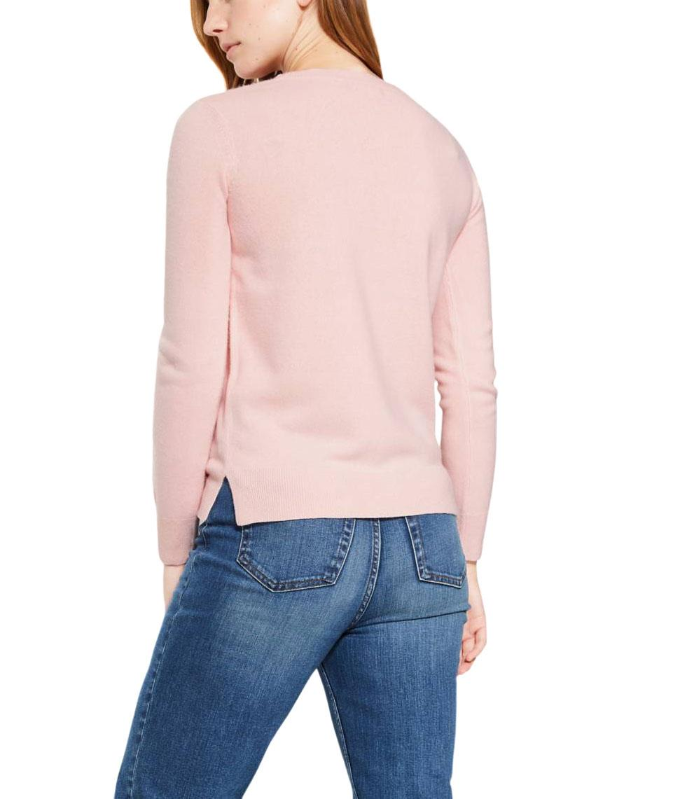 NEW-Ex-M-amp-S-Ladies-Super-Soft-Lightweight-Round-Neck-Summer-Jumper-Size-6-18 thumbnail 16