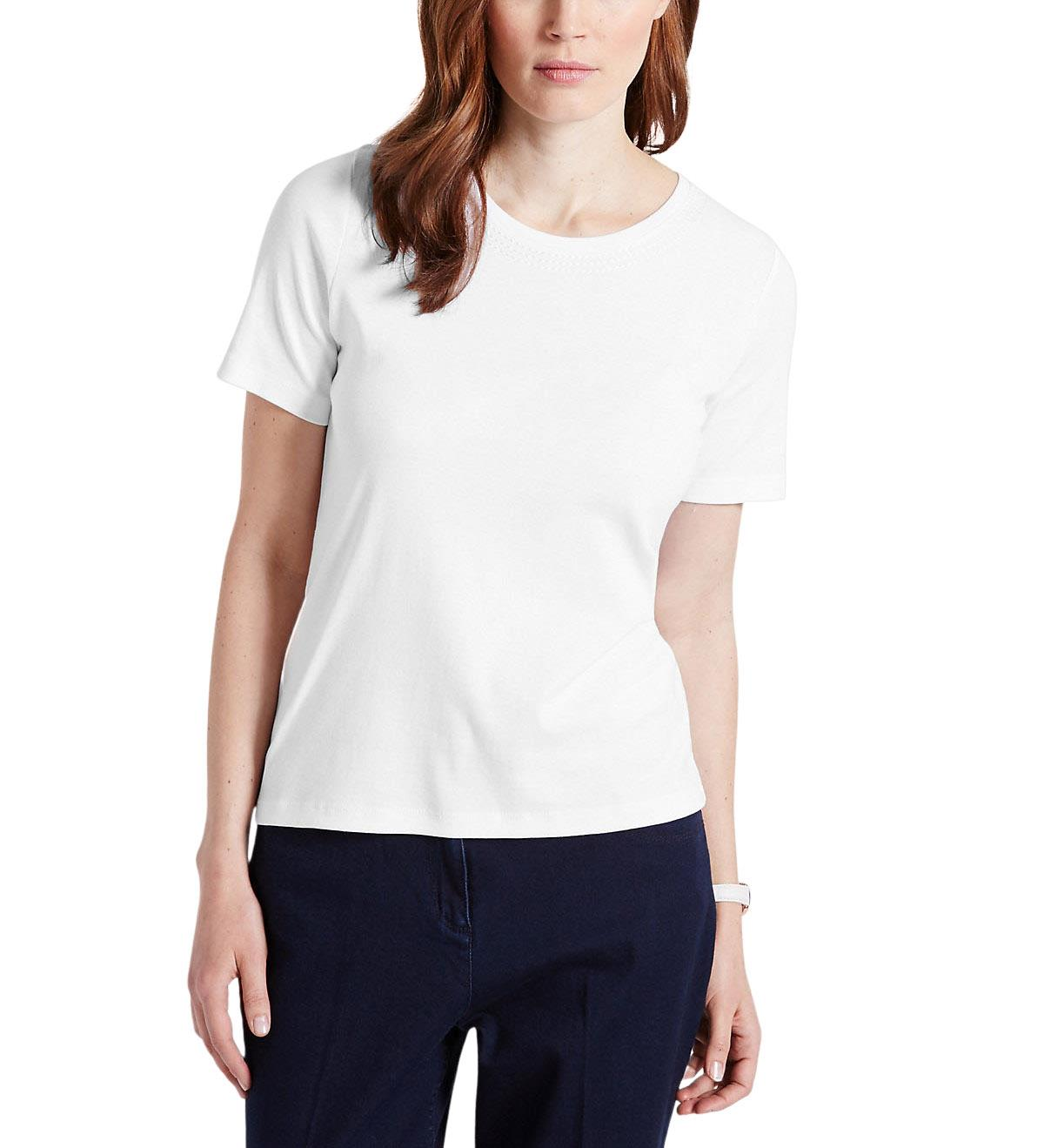 NEW-Ex-M-amp-S-Scoop-Neck-Long-Sleeve-Jersey-Top-Triple-Stitch-Neck-Sizes-8-24 thumbnail 23