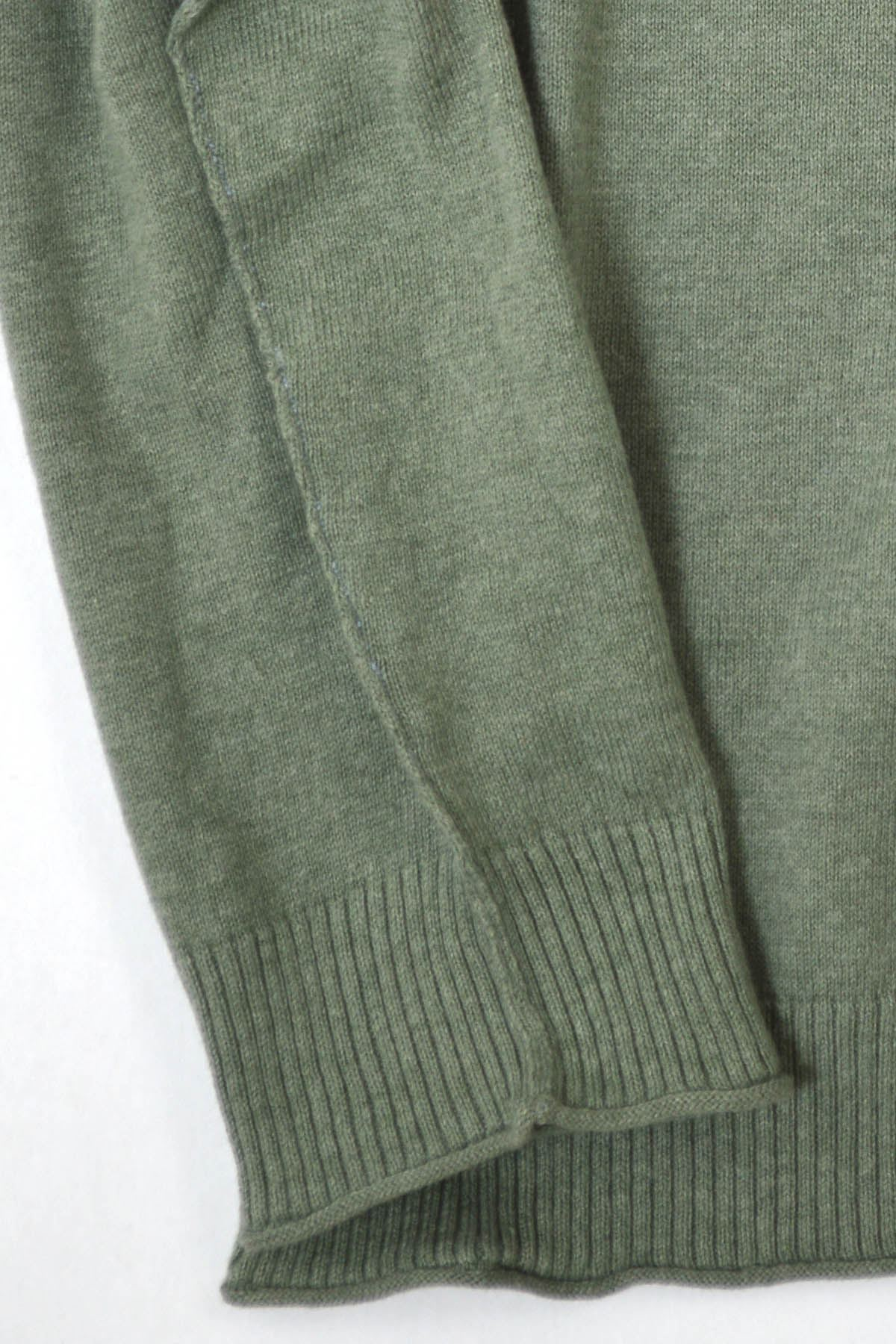 Ex-White-Stuff-Mens-Soft-Cotton-Cashmere-V-Neck-Jumper-Exposed-Seams-Sizes-S-2XL 縮圖 15