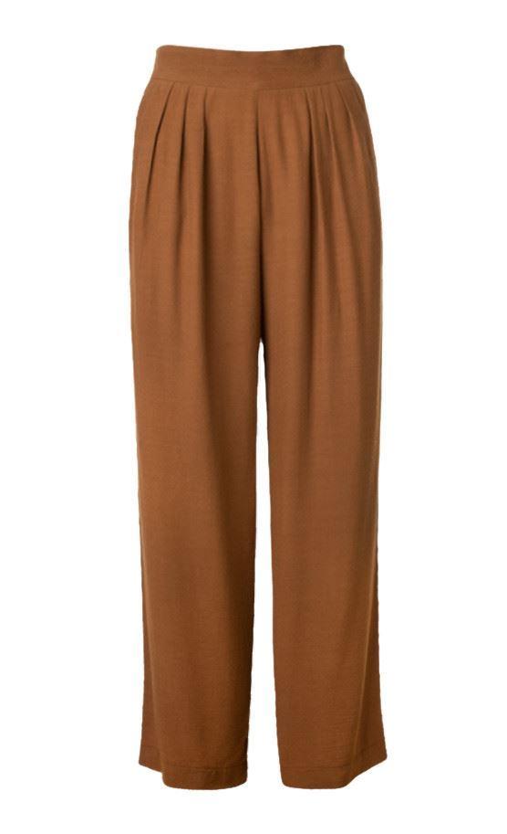 WALLIS Bronze Palazzo Long Trousers Size 10SALEWas £29