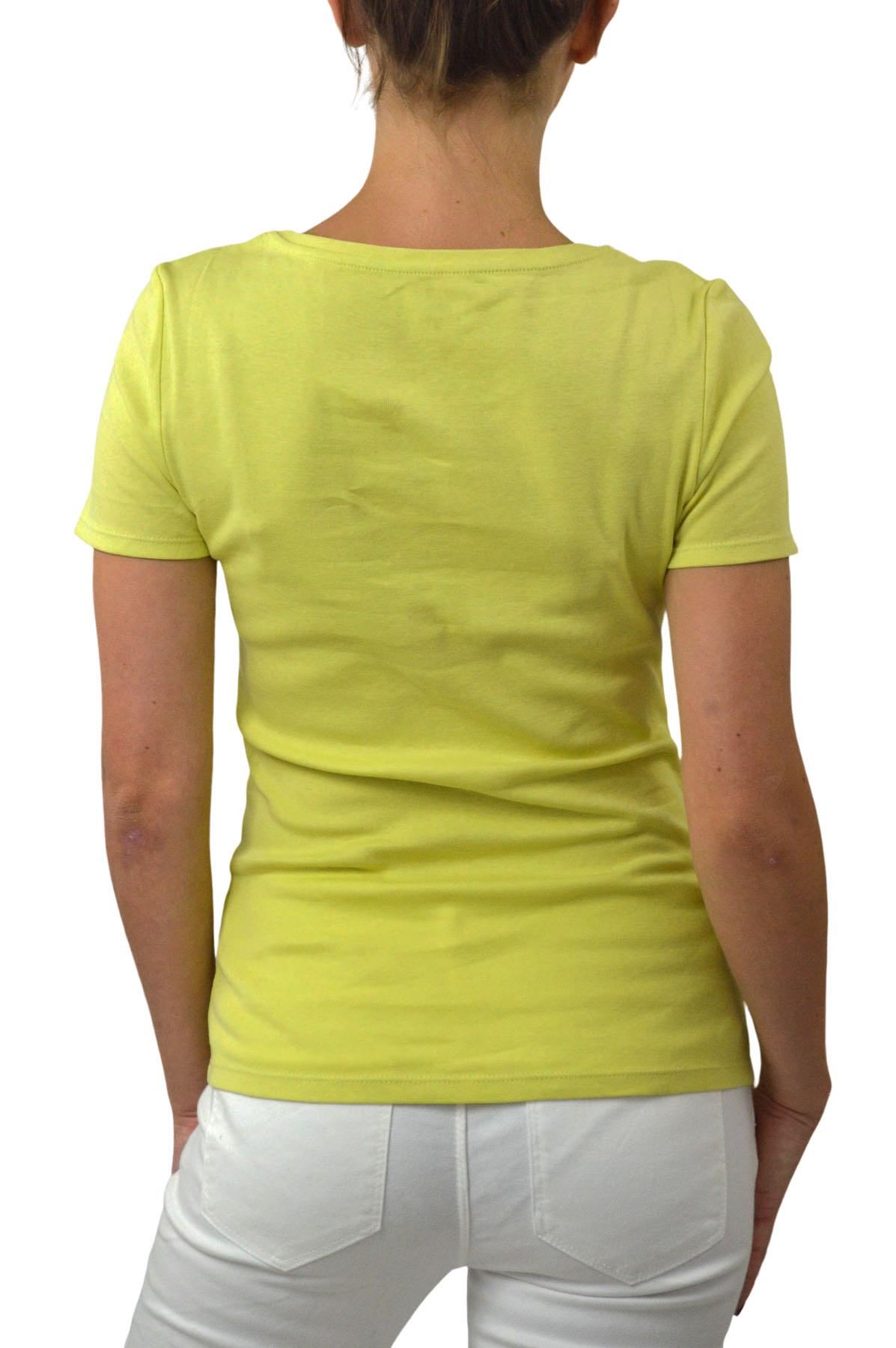 M-amp-S-Ladies-Short-Sleeve-Cotton-T-Shirt-Slim-Fit-Curved-Hem-Size-4-to-24 thumbnail 13