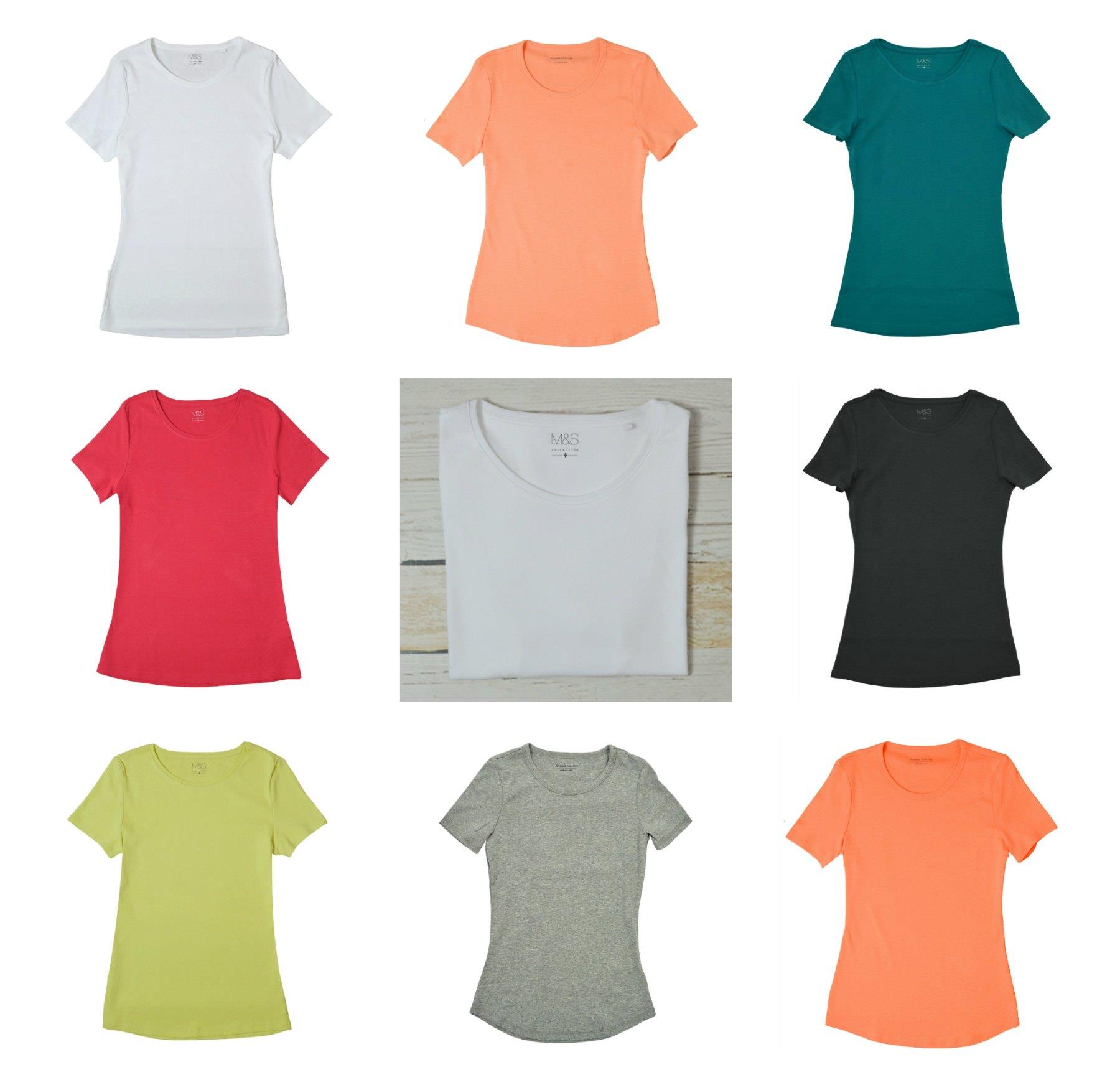 LADIES EX M/&S LONG SLEEVE COTTON TOPS T SHIRTS £7 2 OR MORE 15/% OFF FREE P/&P