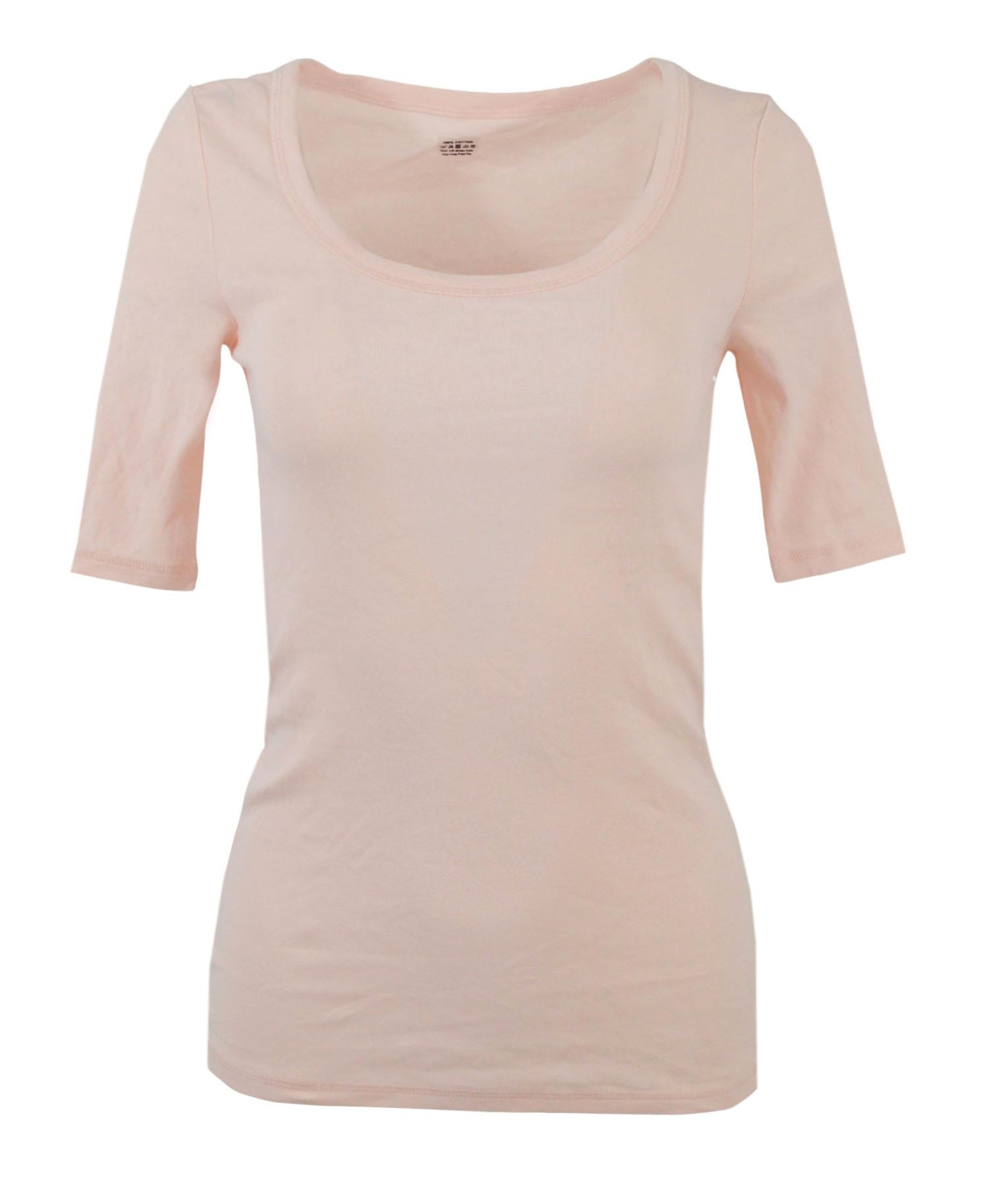 MARKS-AND-SPENCER-Womens-Scoop-Neck-Half-Sleeve-T-shirt-CLEARANCE thumbnail 14