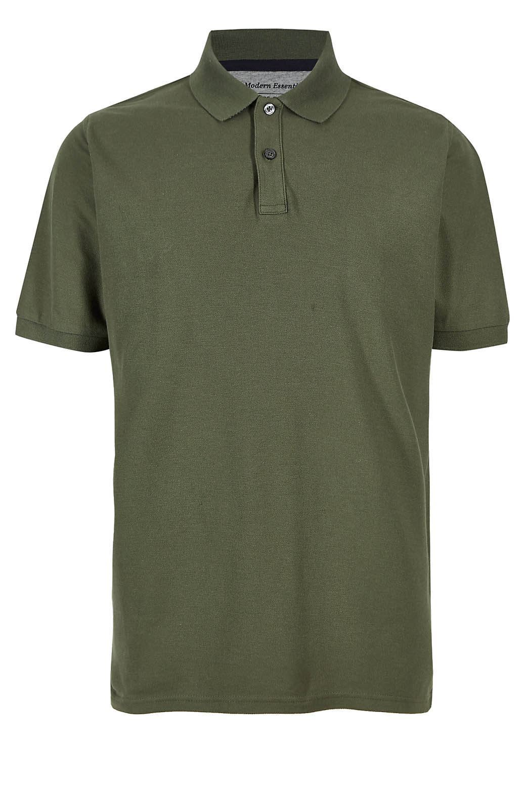 MARKS-amp-SPENCER-Mens-Classic-Cotton-Polo-Shirt-M-amp-S-All-Colours-and-Large-Sizes thumbnail 15