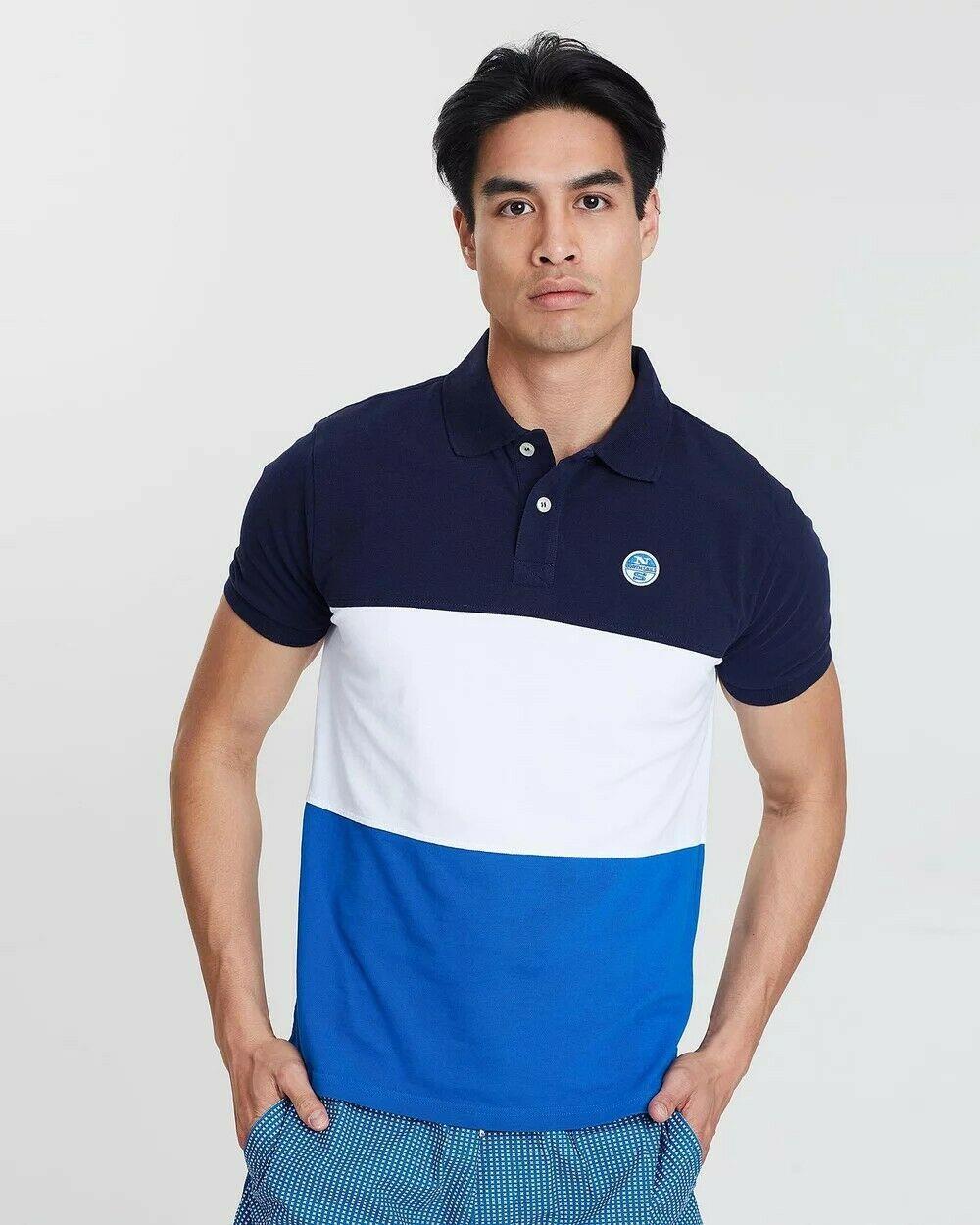 NEW-North-Sails-Legacy-Heritage-Mens-Cotton-Polo-Shirt-Top-Size-S-M-L-XL-XXL-3XL thumbnail 14