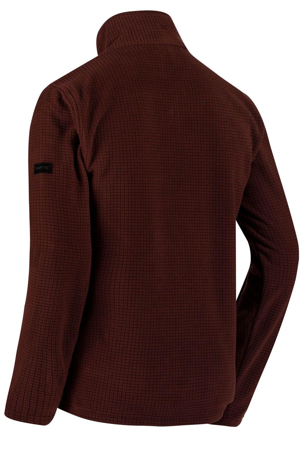 REGATTA-Mens-Half-Zip-Neck-Grid-Textured-Fleece-RRP-30 thumbnail 18