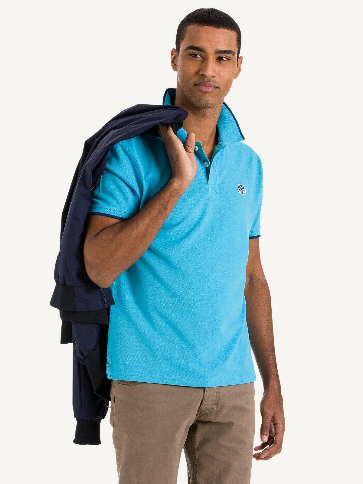 NEW-North-Sails-Legacy-Heritage-Mens-Cotton-Polo-Shirt-Top-Size-S-M-L-XL-XXL-3XL thumbnail 47