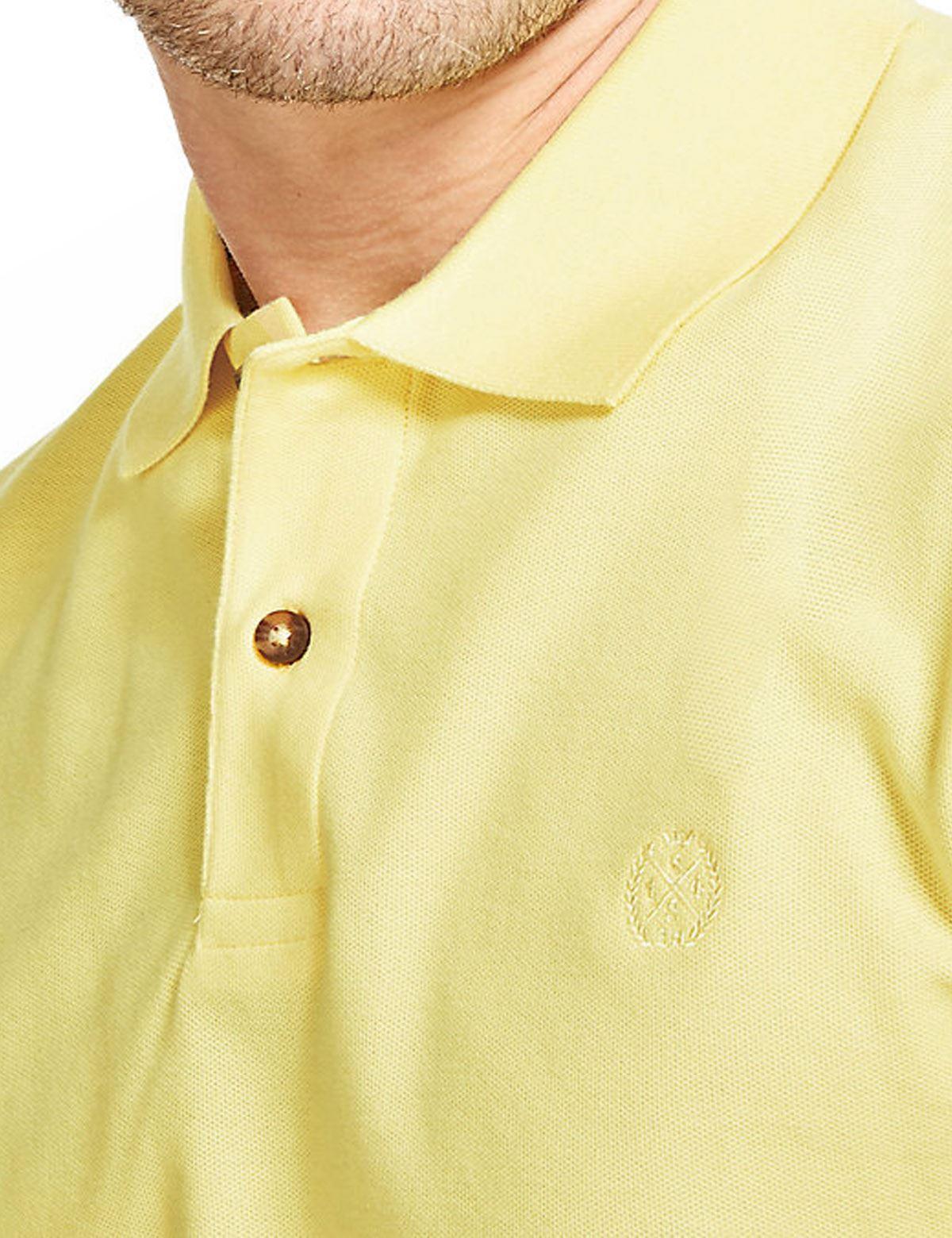 Ex-M-amp-S-Mens-Cotton-Polo-Shirt-Marks-amp-Spencer-Blue-Harbour-Size-S-M thumbnail 13