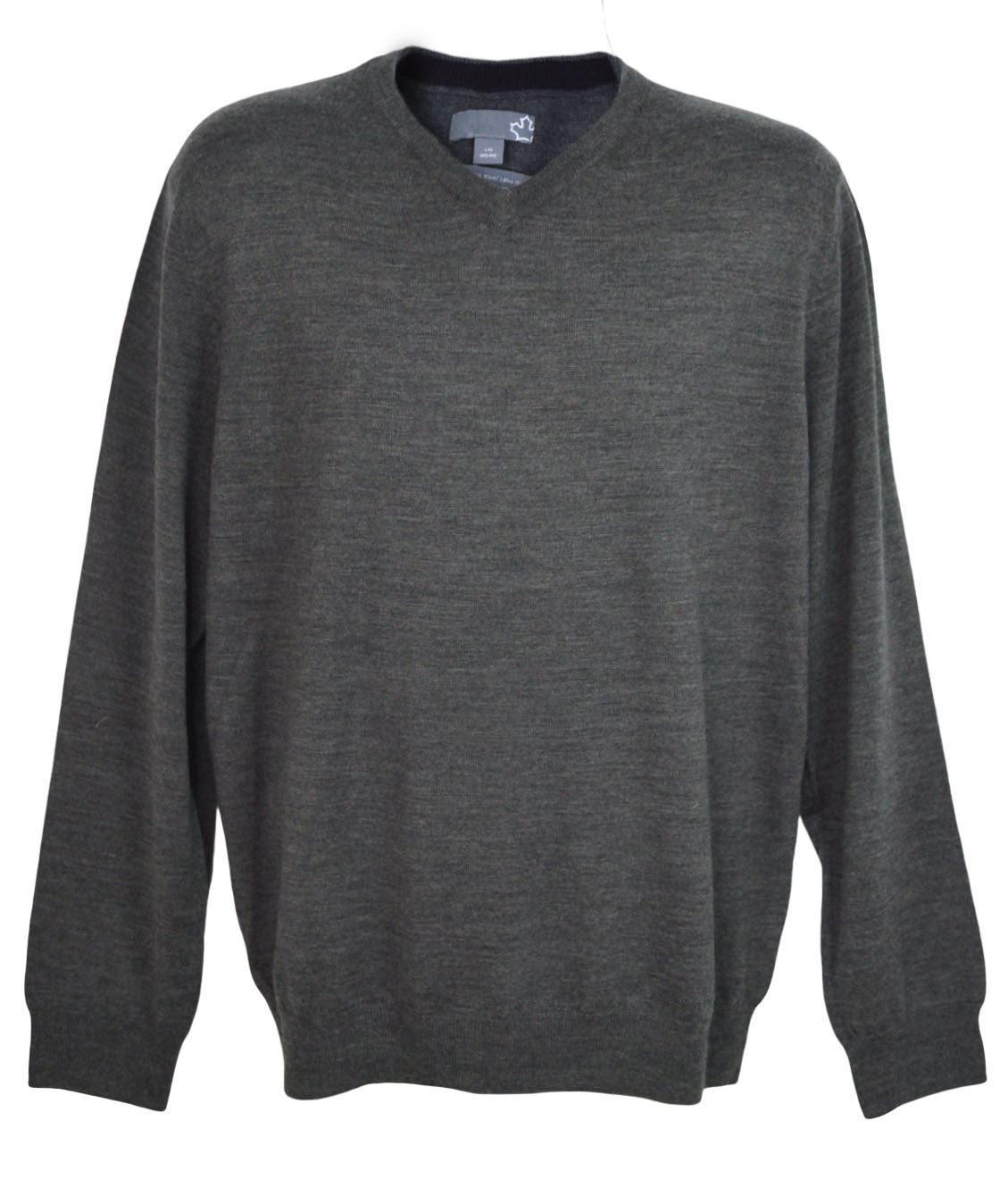 SEARS-Mens-Pure-Merino-Wool-V-Neck-Jumper-Pullover-Super-Quality thumbnail 14