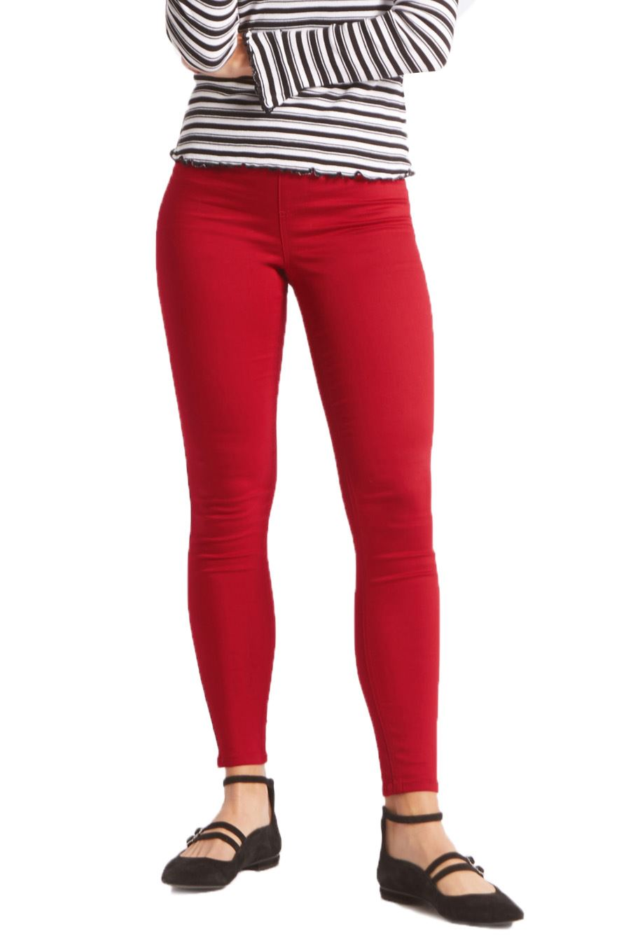 NEW-Ex-M-amp-S-Womens-Stretch-Fit-High-Waist-Skinny-Jeggings-Size-8-10-12-14-16-18 thumbnail 15