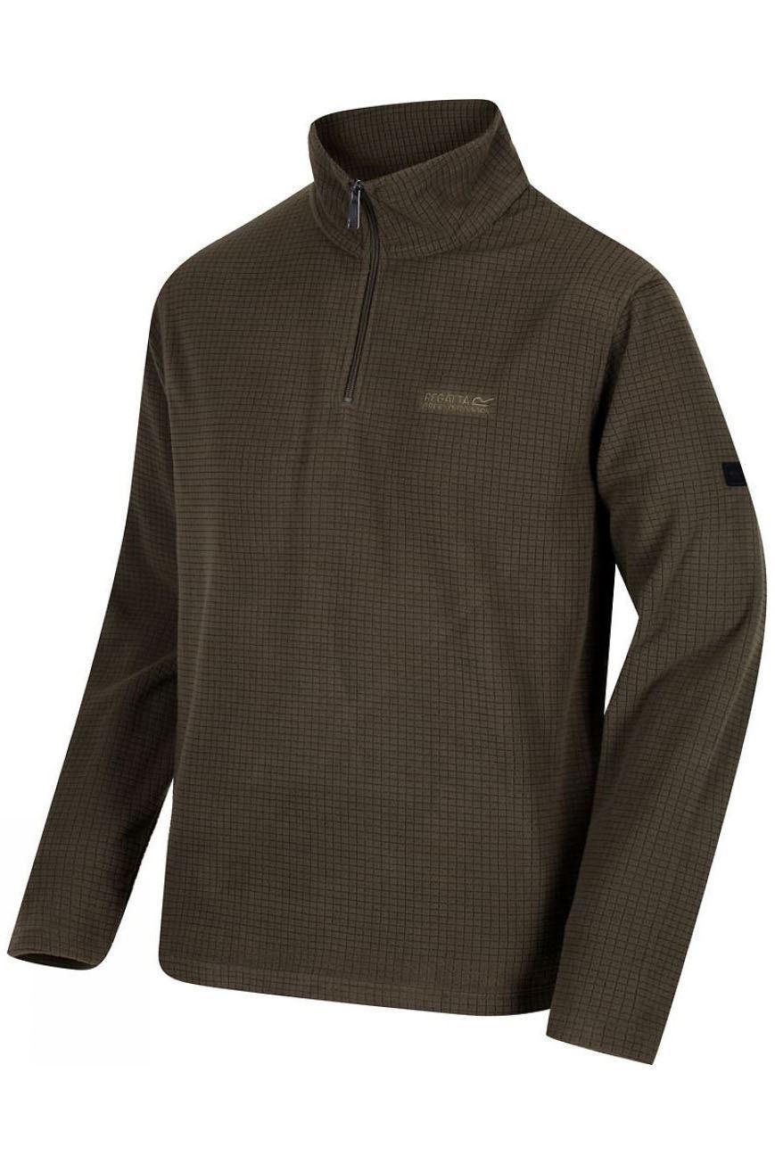 REGATTA-Mens-Half-Zip-Neck-Grid-Textured-Fleece-RRP-30 thumbnail 14