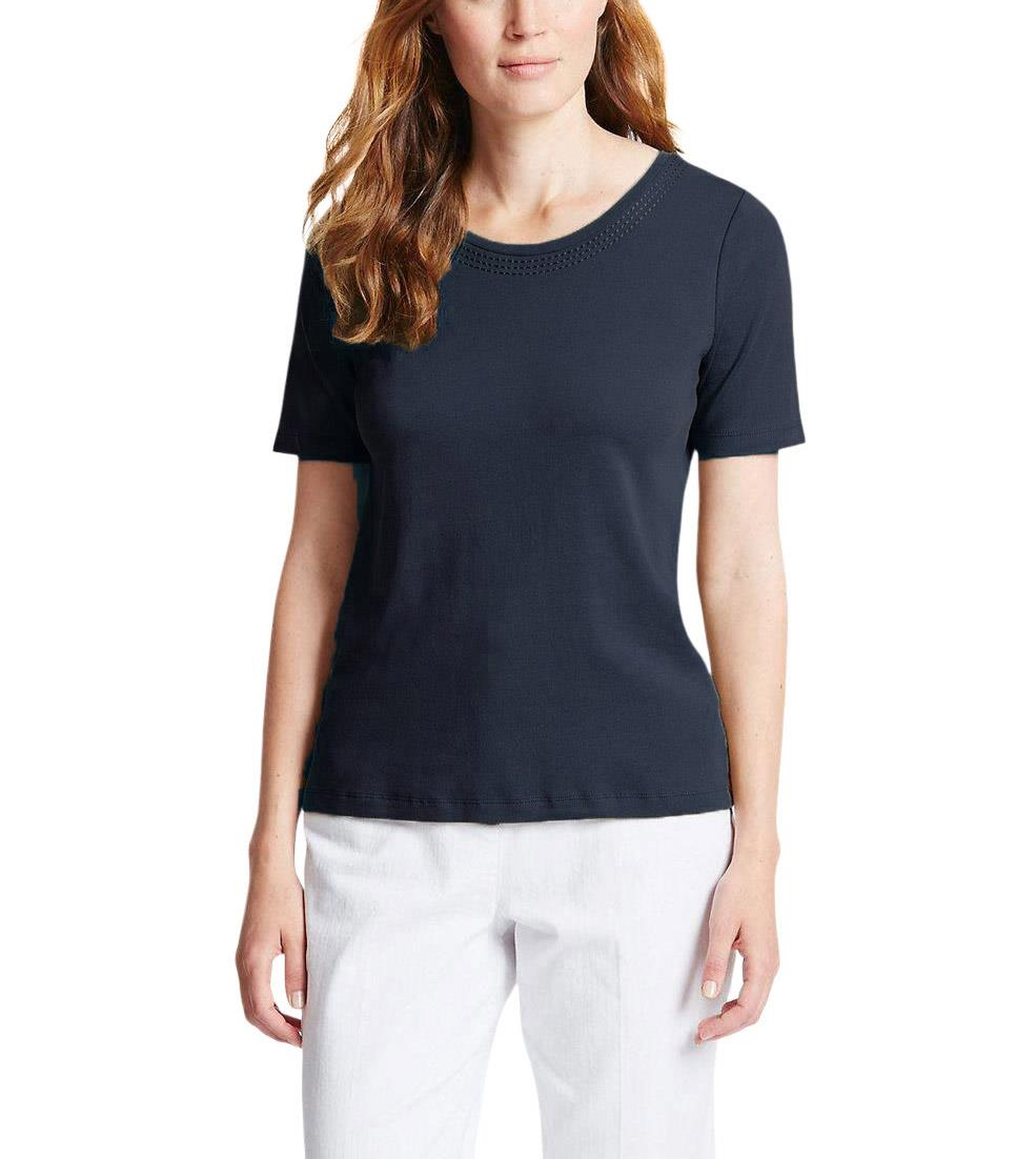 NEW-Ex-M-amp-S-Scoop-Neck-Long-Sleeve-Jersey-Top-Triple-Stitch-Neck-Sizes-8-24 thumbnail 20