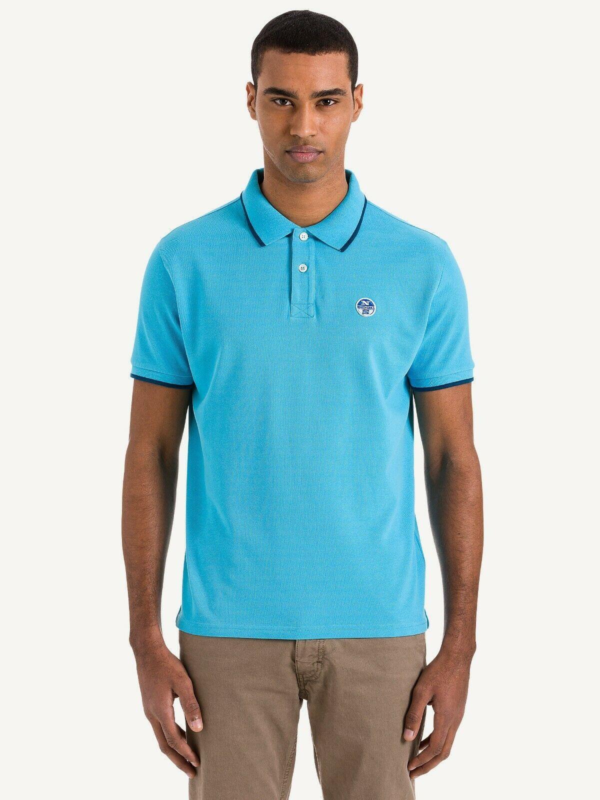NEW-North-Sails-Legacy-Heritage-Mens-Cotton-Polo-Shirt-Top-Size-S-M-L-XL-XXL-3XL thumbnail 46