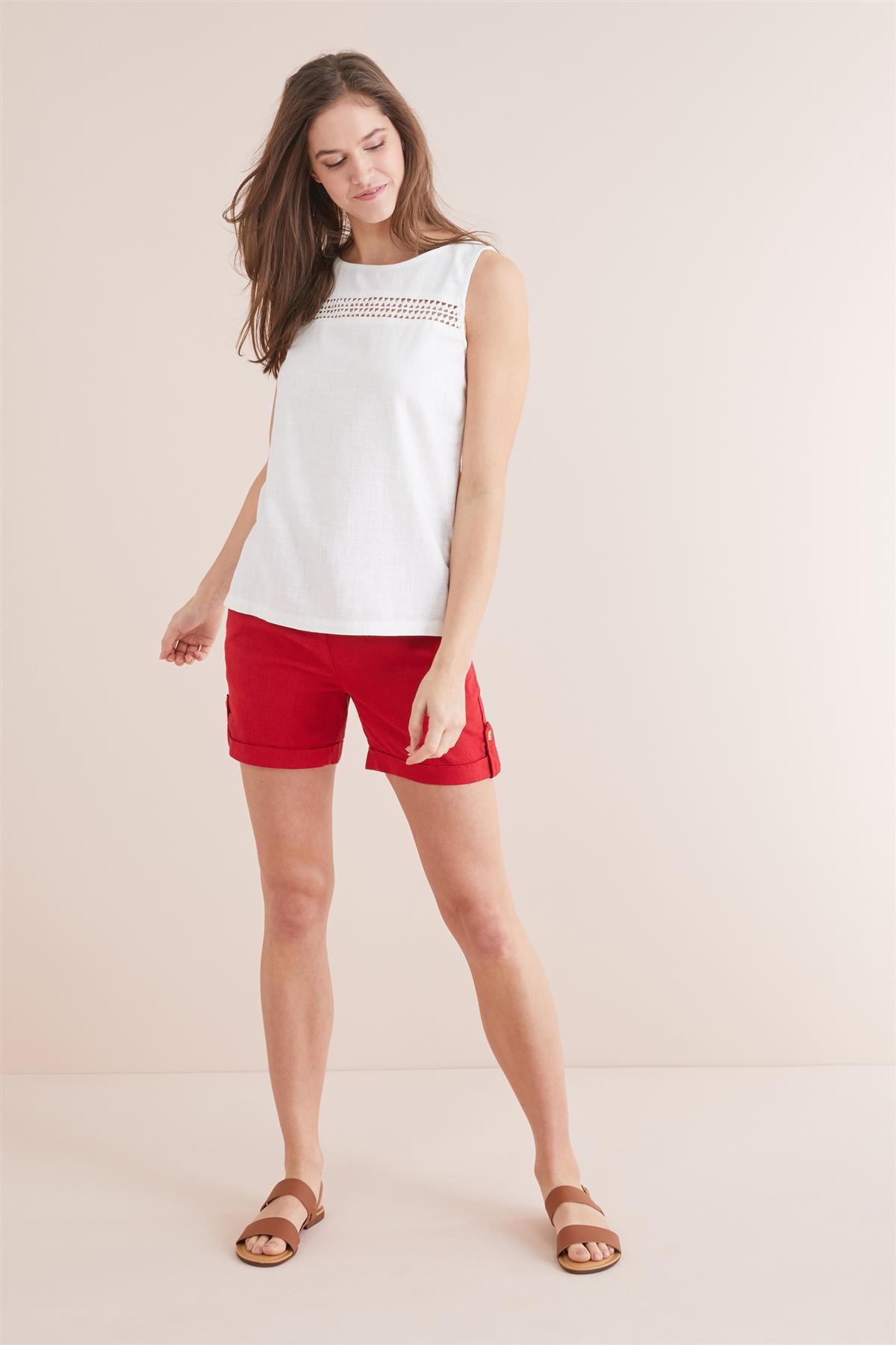 NEXT-Womens-Linen-Sleeveless-Boxy-Top-SALE-RRP-18 thumbnail 22