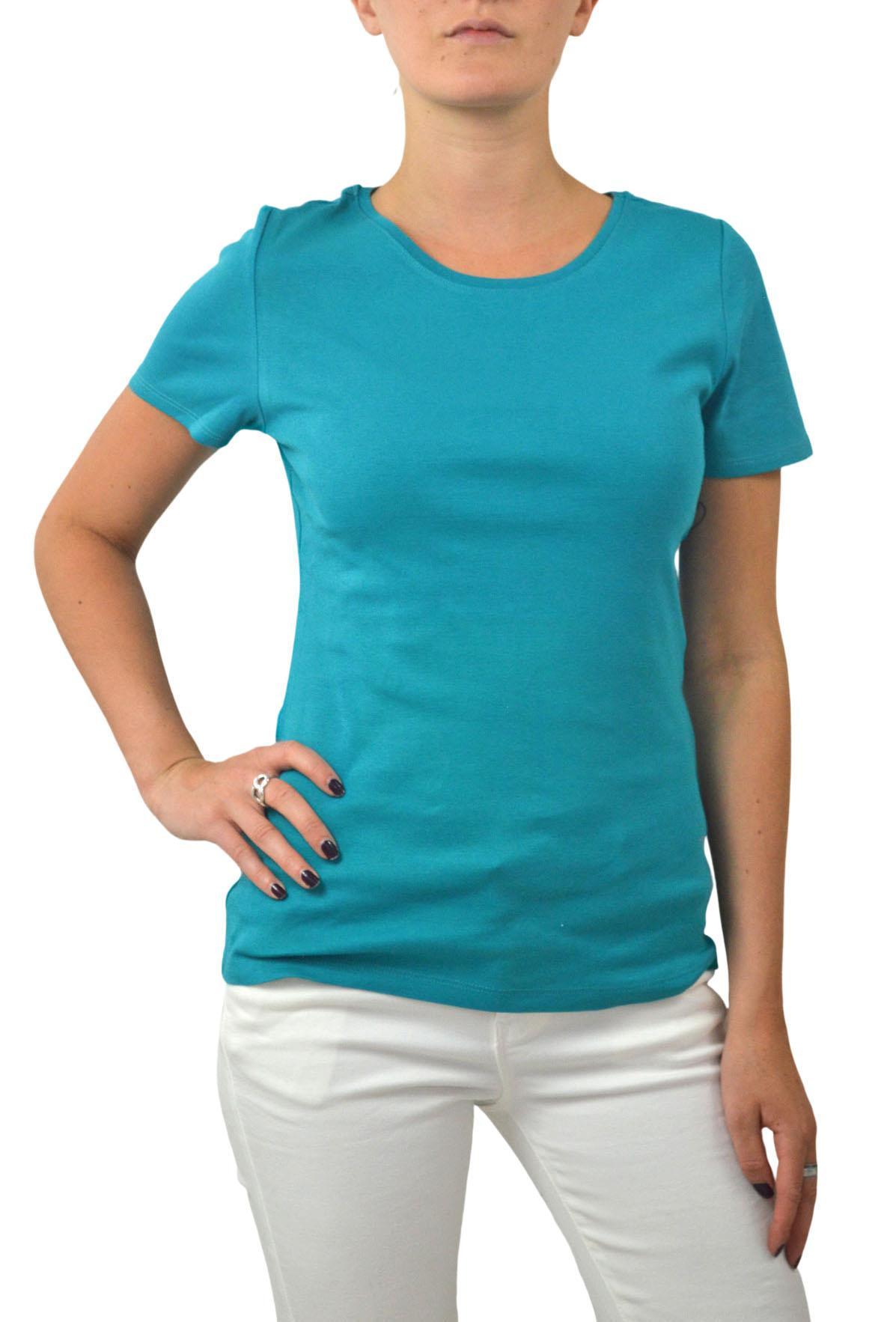M-amp-S-Ladies-Short-Sleeve-Cotton-T-Shirt-Slim-Fit-Curved-Hem-Size-4-to-24 thumbnail 21