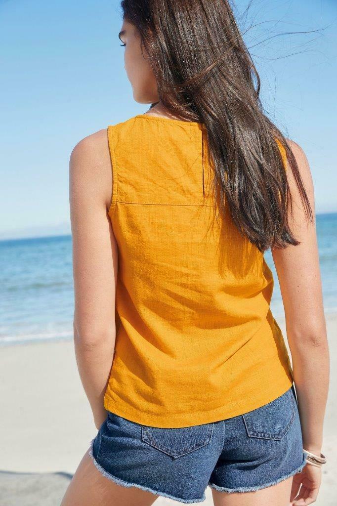 NEXT-Womens-Linen-Sleeveless-Boxy-Top-SALE-RRP-18 thumbnail 13