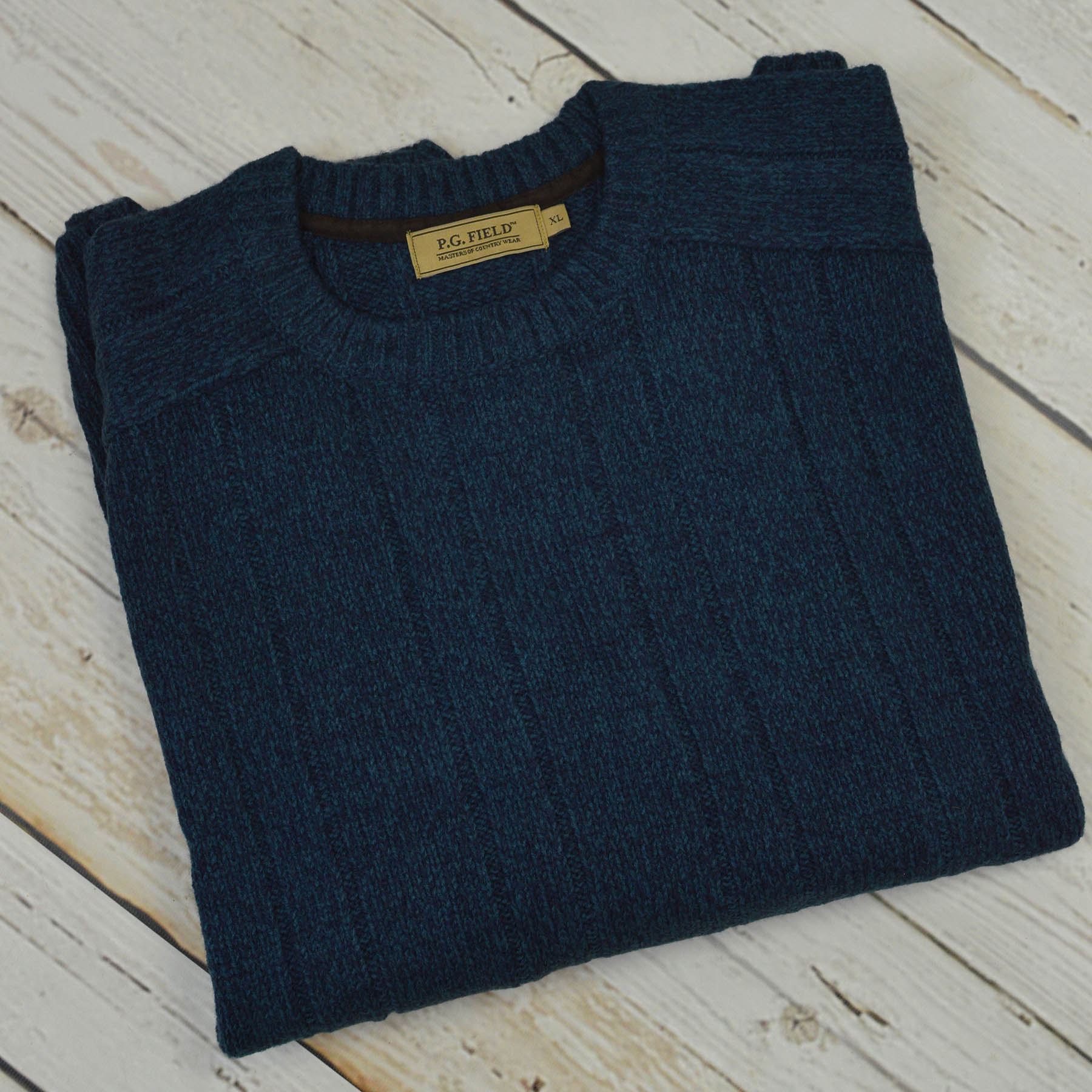 P G champ Hommes Country Wear Pull Crewneck Sweater Neuf Tailles S 2XL