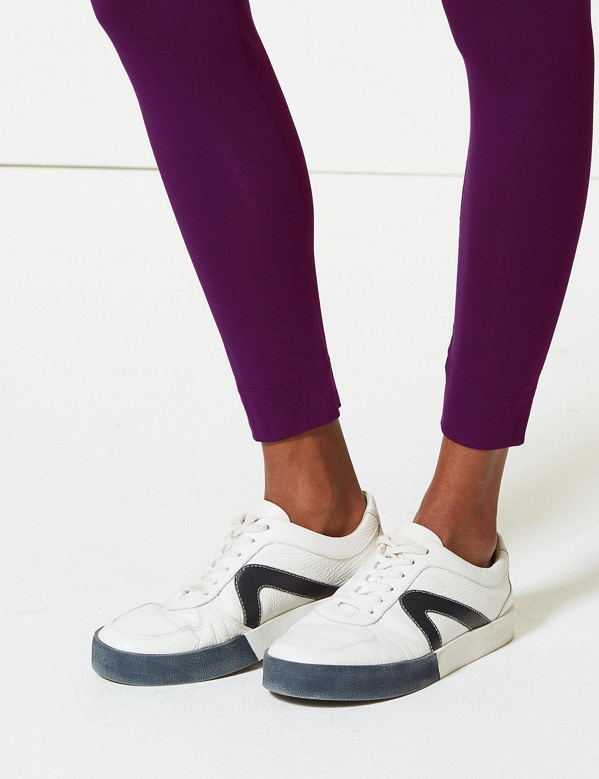 Ex-M-amp-S-Leggings-Azul-marino-Berry-Gris-Carbon-Negro-Marks-amp-Spencer-Talla-6-24 miniatura 30