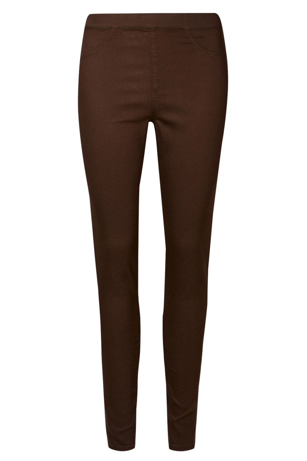 NEW-Ex-M-amp-S-Womens-Stretch-Fit-High-Waist-Skinny-Jeggings-Size-8-10-12-14-16-18 thumbnail 6