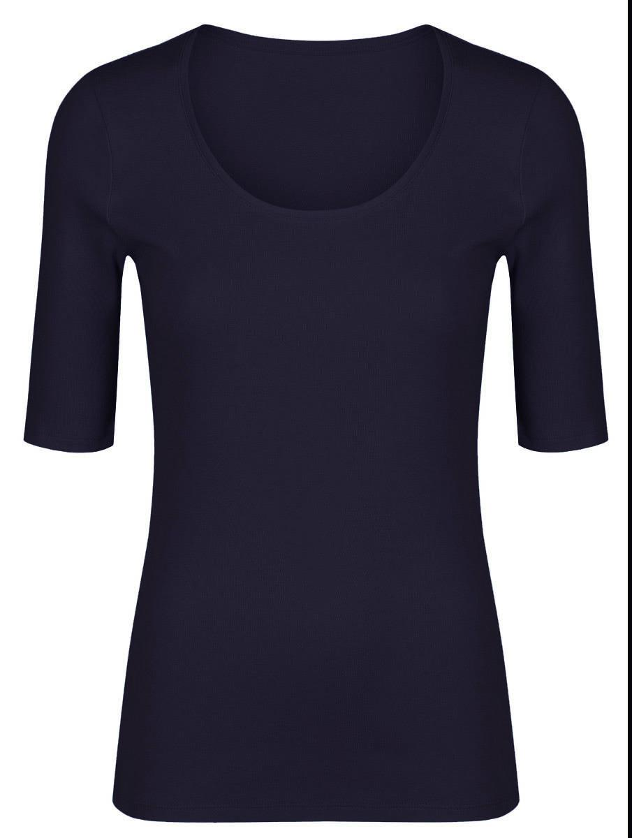 MARKS-AND-SPENCER-Womens-Scoop-Neck-Half-Sleeve-T-shirt-CLEARANCE thumbnail 10