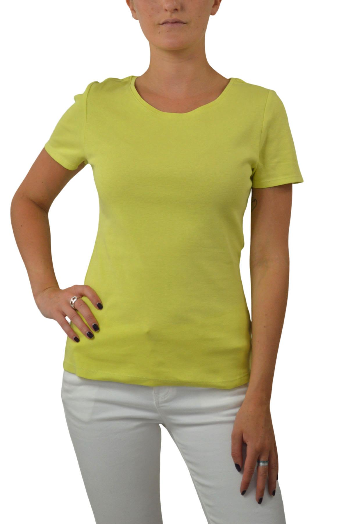 M-amp-S-Ladies-Short-Sleeve-Cotton-T-Shirt-Slim-Fit-Curved-Hem-Size-4-to-24 thumbnail 12