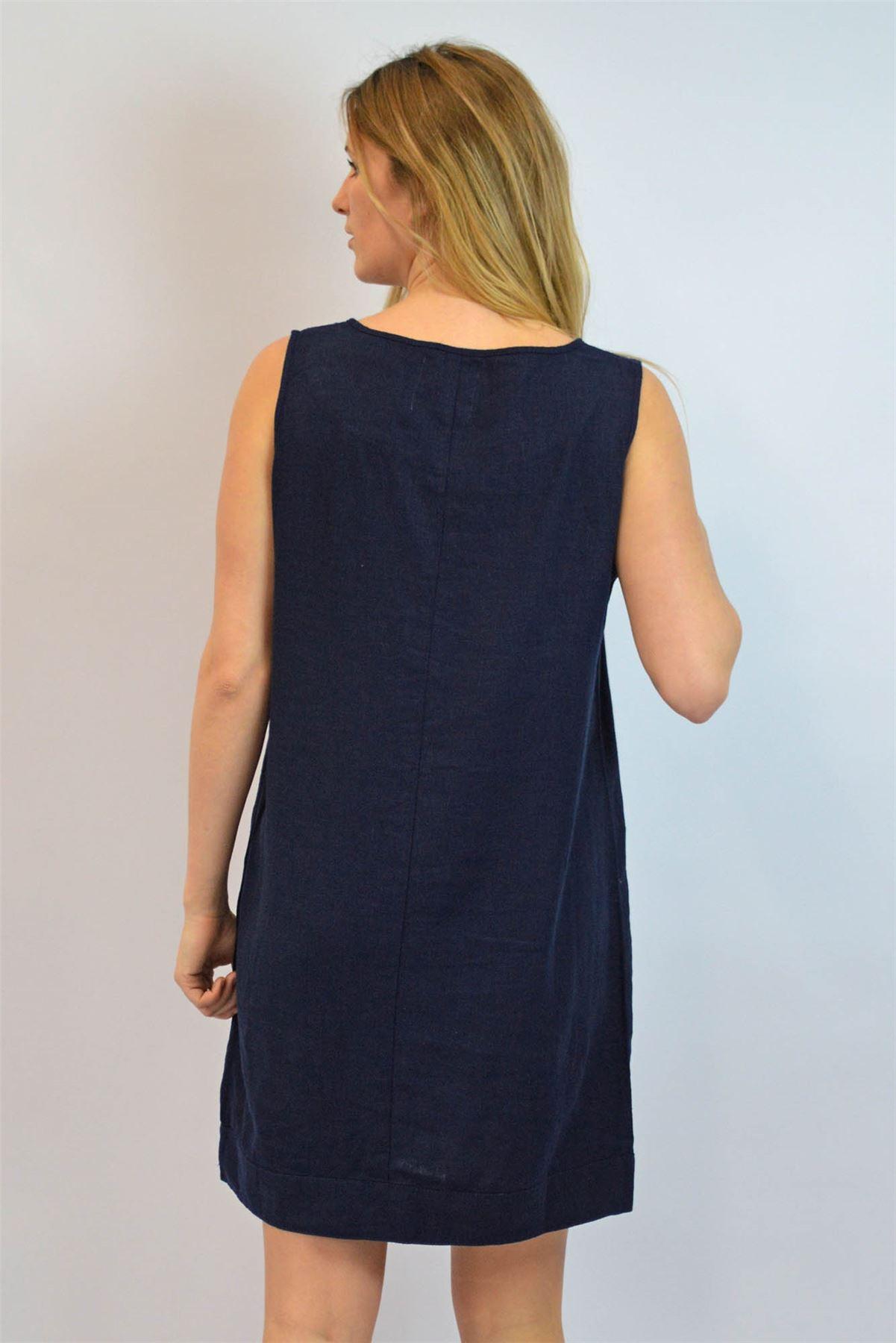 b8d3d197e73 Classic Box Shaped Tunic Dress ex NEXT Round Neck Sleeveless RRP £25 ...