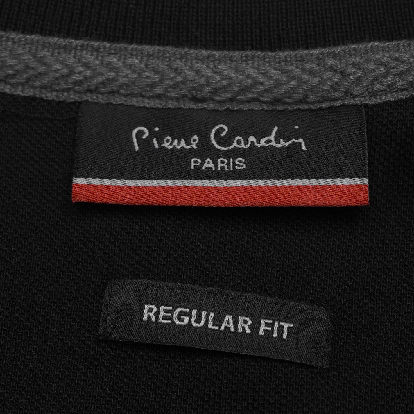 NEW-Pierre-Cardin-Mens-Long-Sleeve-Pure-Cotton-Polo-Shirt-Size-S-M-L-XL-XXL thumbnail 13