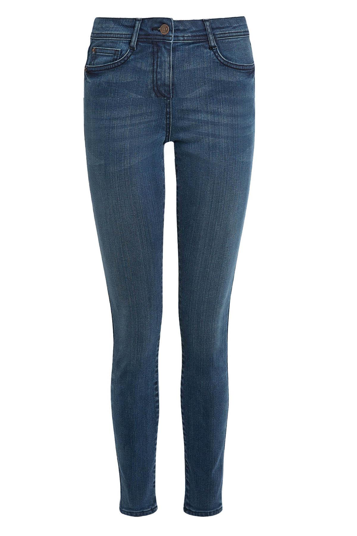 Ladies Ex NEW LOOK Jenna Skinny Jeans Blue Sizes 4-18 *NEW*