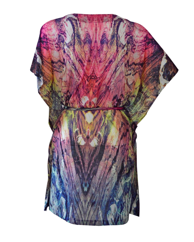 NEW-Ex-H-amp-M-Lightweight-Summer-Beach-Cover-Top-Kaftan-Floral-Print-Size-XS-XL thumbnail 18