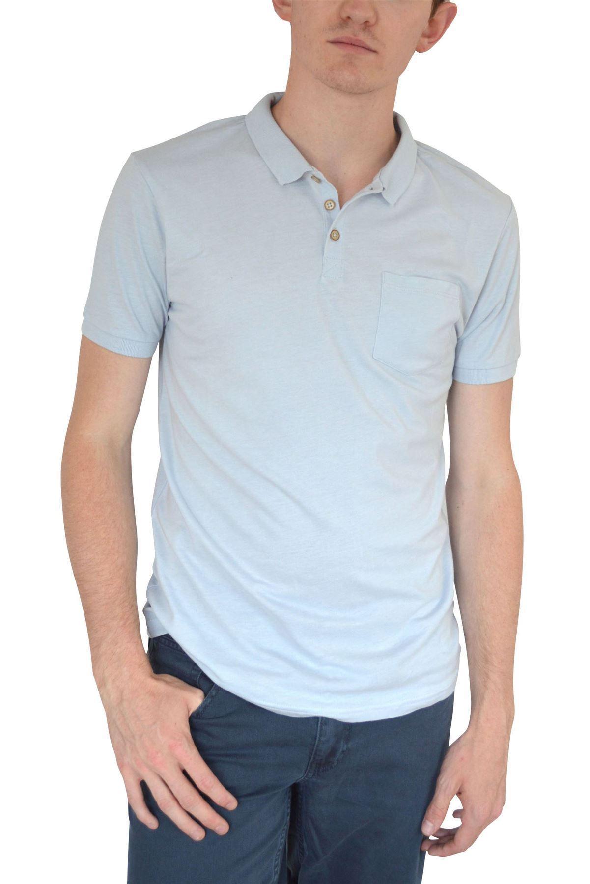 Ex-Mens-H-amp-M-Cotton-Polo-Shirt-Contrast-Collar-Size-S-XXL thumbnail 10
