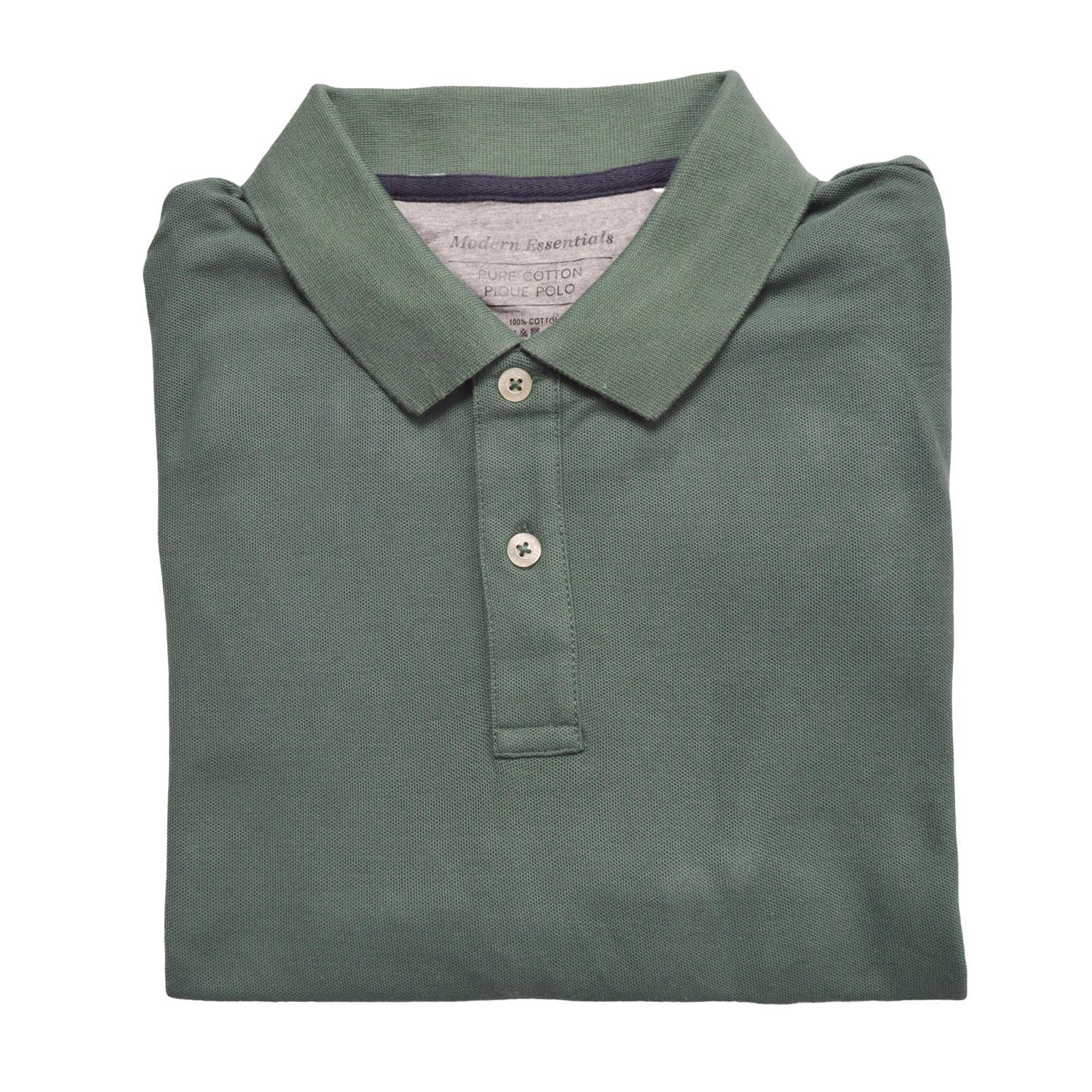 MARKS-amp-SPENCER-Mens-Classic-Cotton-Polo-Shirt-M-amp-S-All-Colours-and-Large-Sizes thumbnail 16